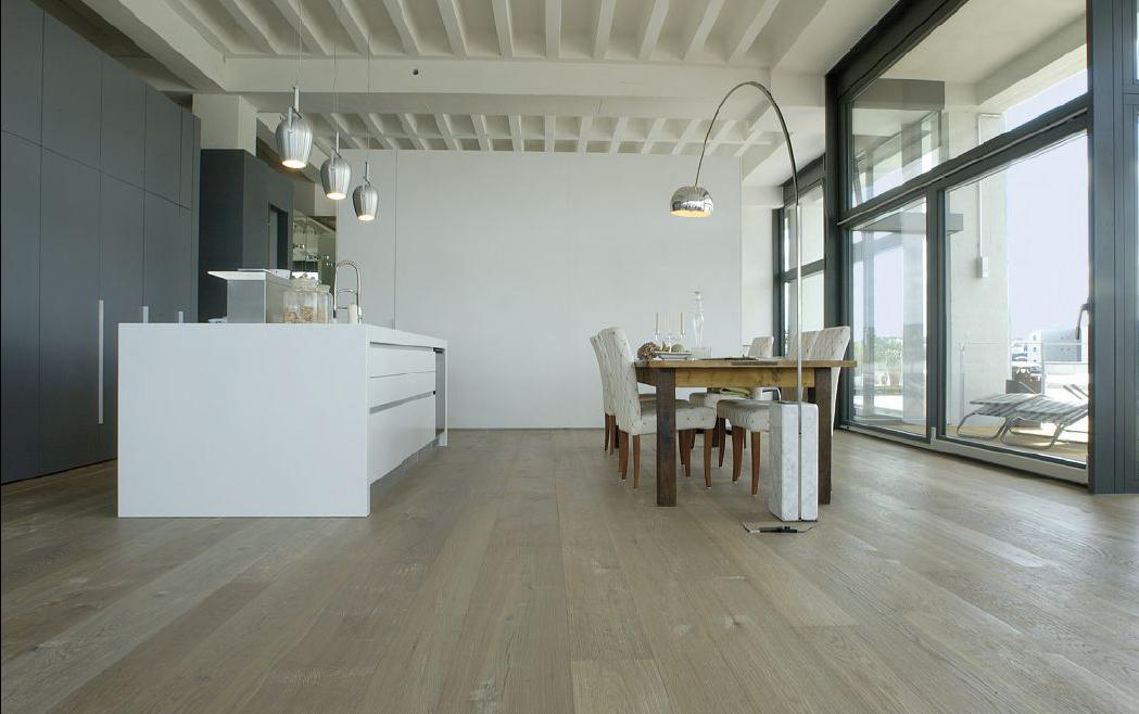 Floor-Art Largo XXL Oak raw 6550mm