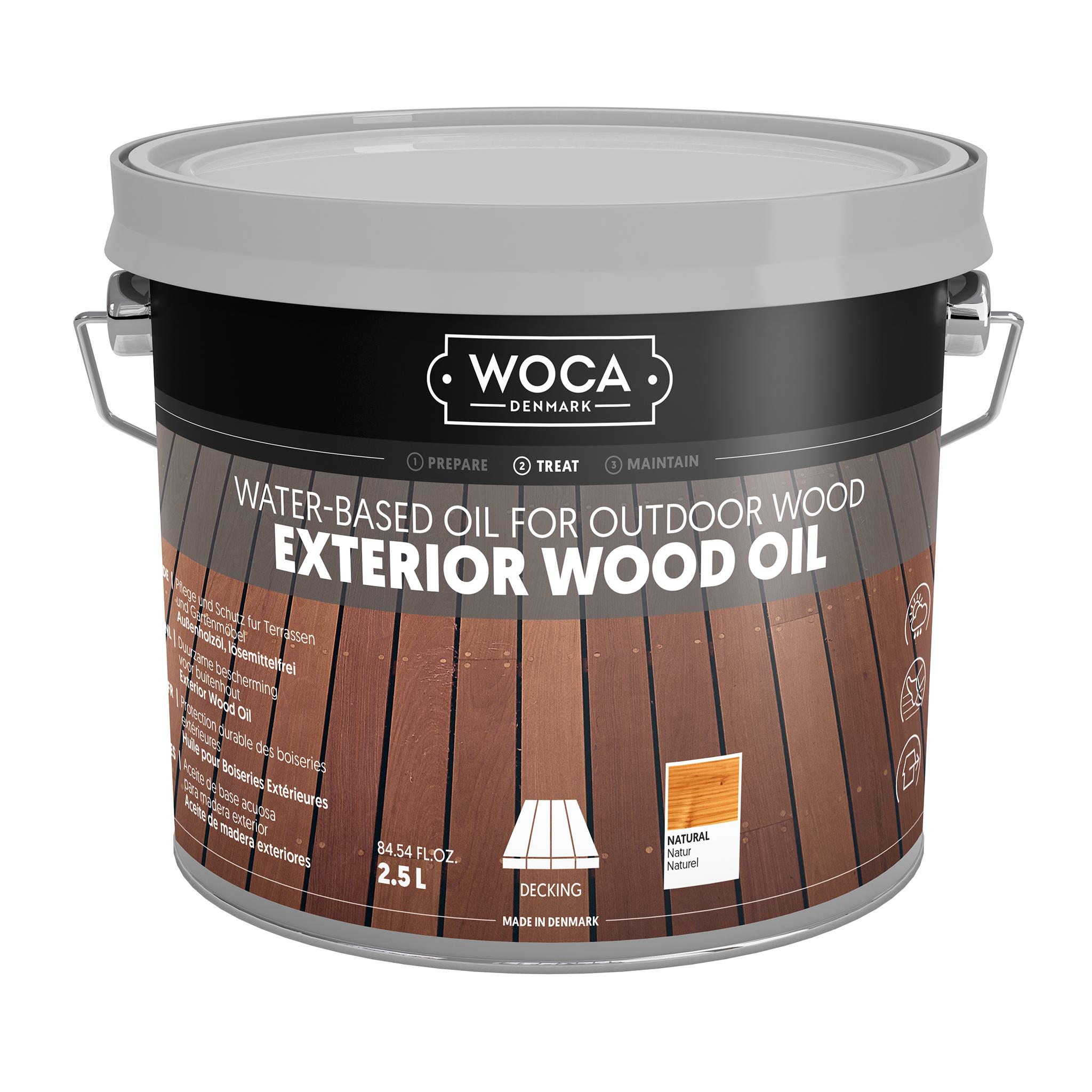 WOCA Exterior Öl Natur 2,5 L