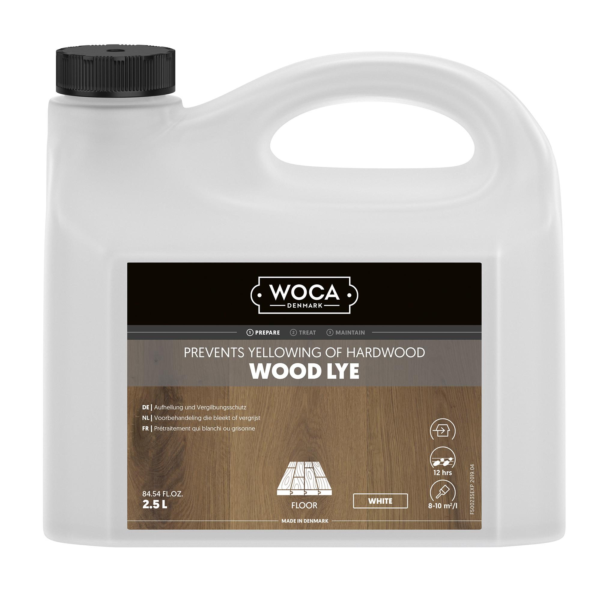 WOCA Holzlauge weiß 2,5 Ltr.