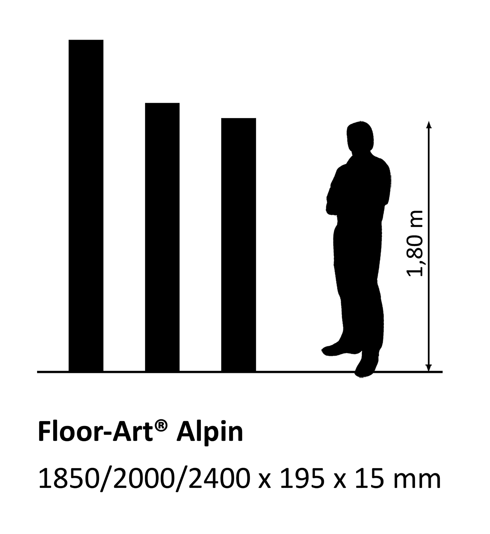 Floor-Art Alpin Lärche Elm naturelle öl