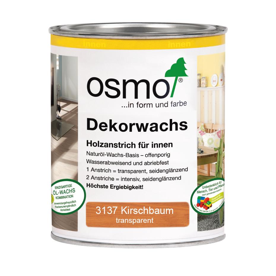 Osmo Dekorwachs transp.Kirschbaum 750ml