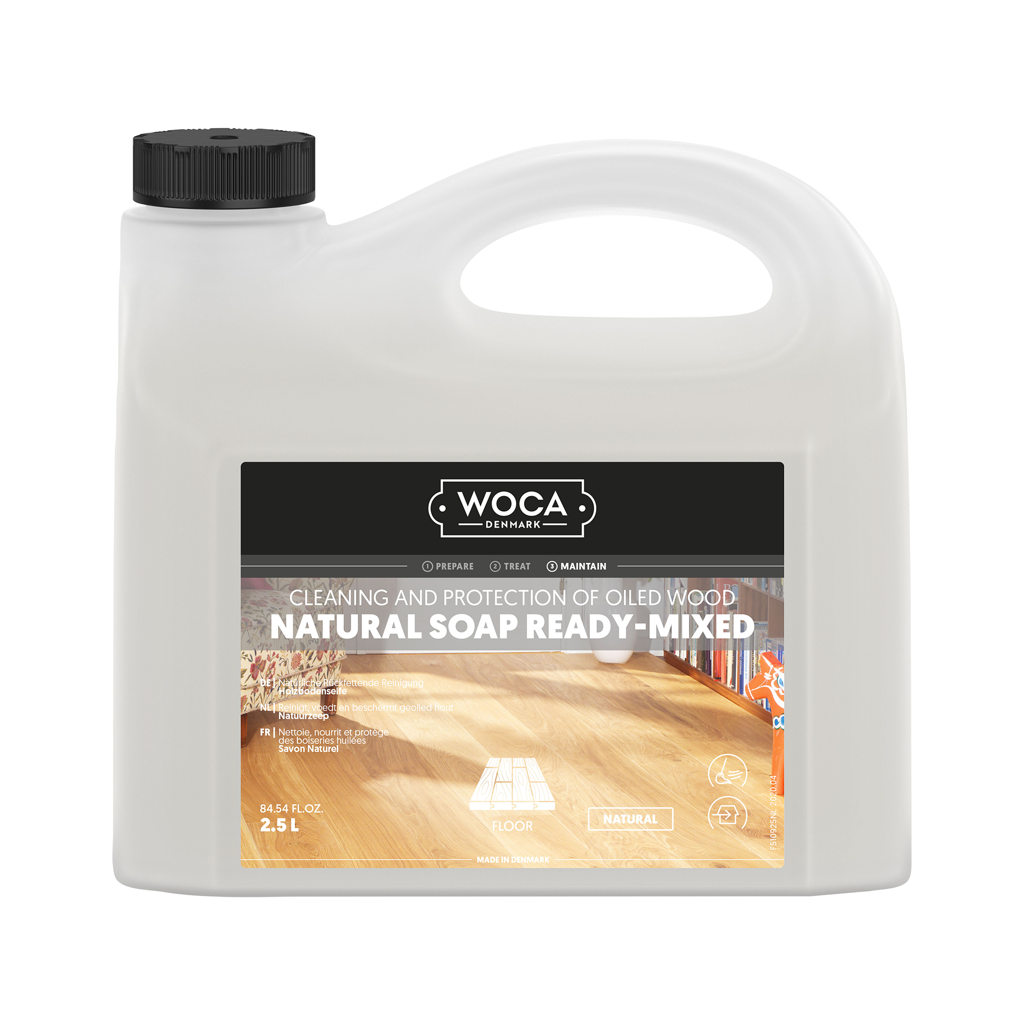 WOCA Natural Soap Ready-Mixed 2,5 Ltr.
