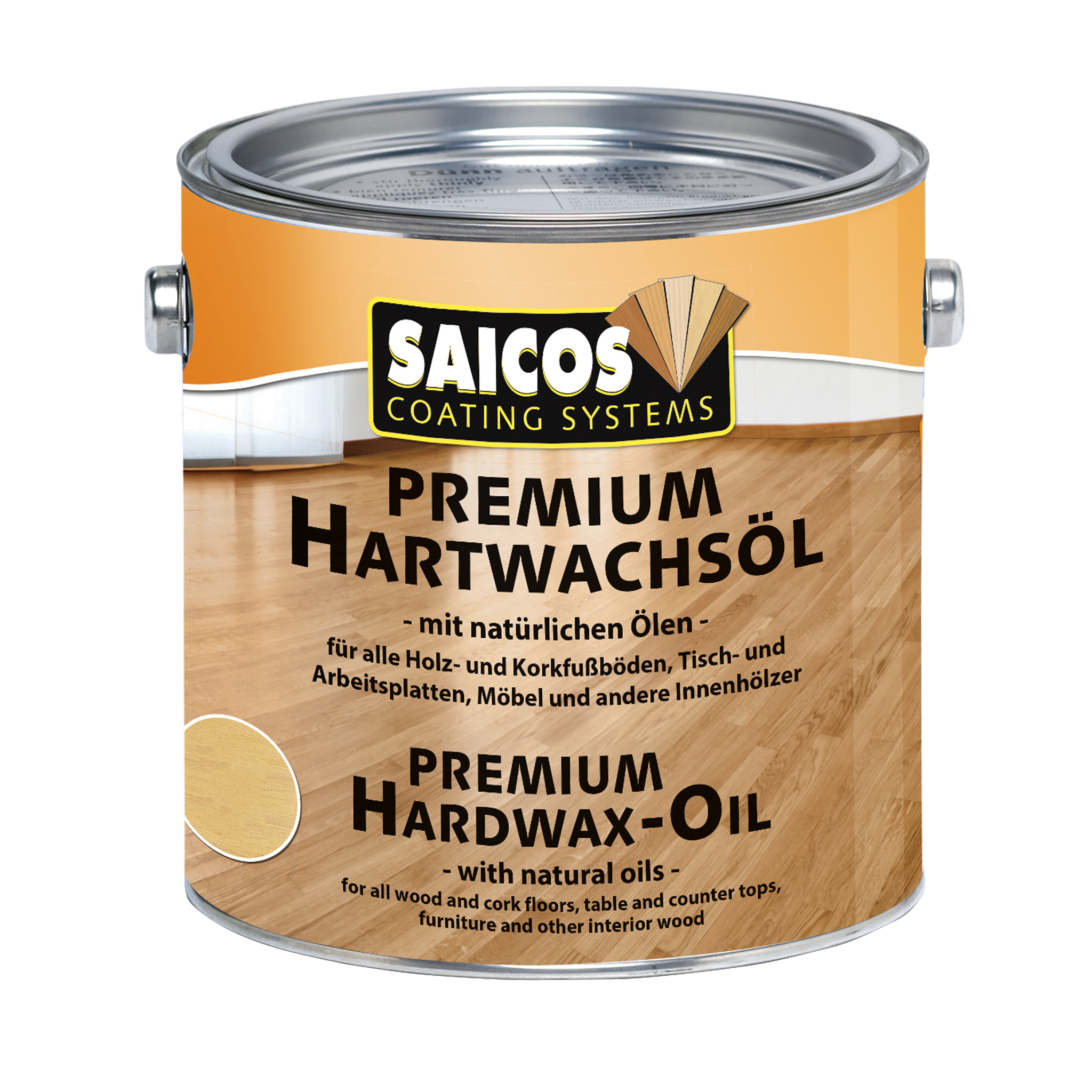 SAICOS premium hard-wax-oil semigloss