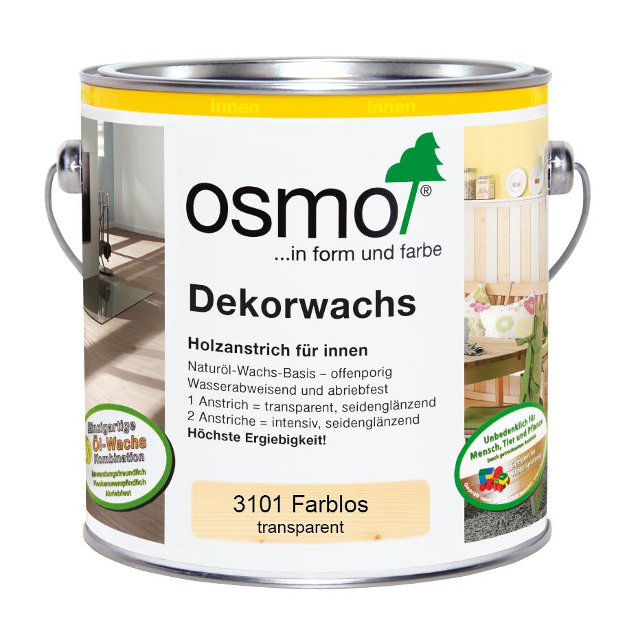 Osmo Dekorwachs transp.farblos 2,5 Ltr.