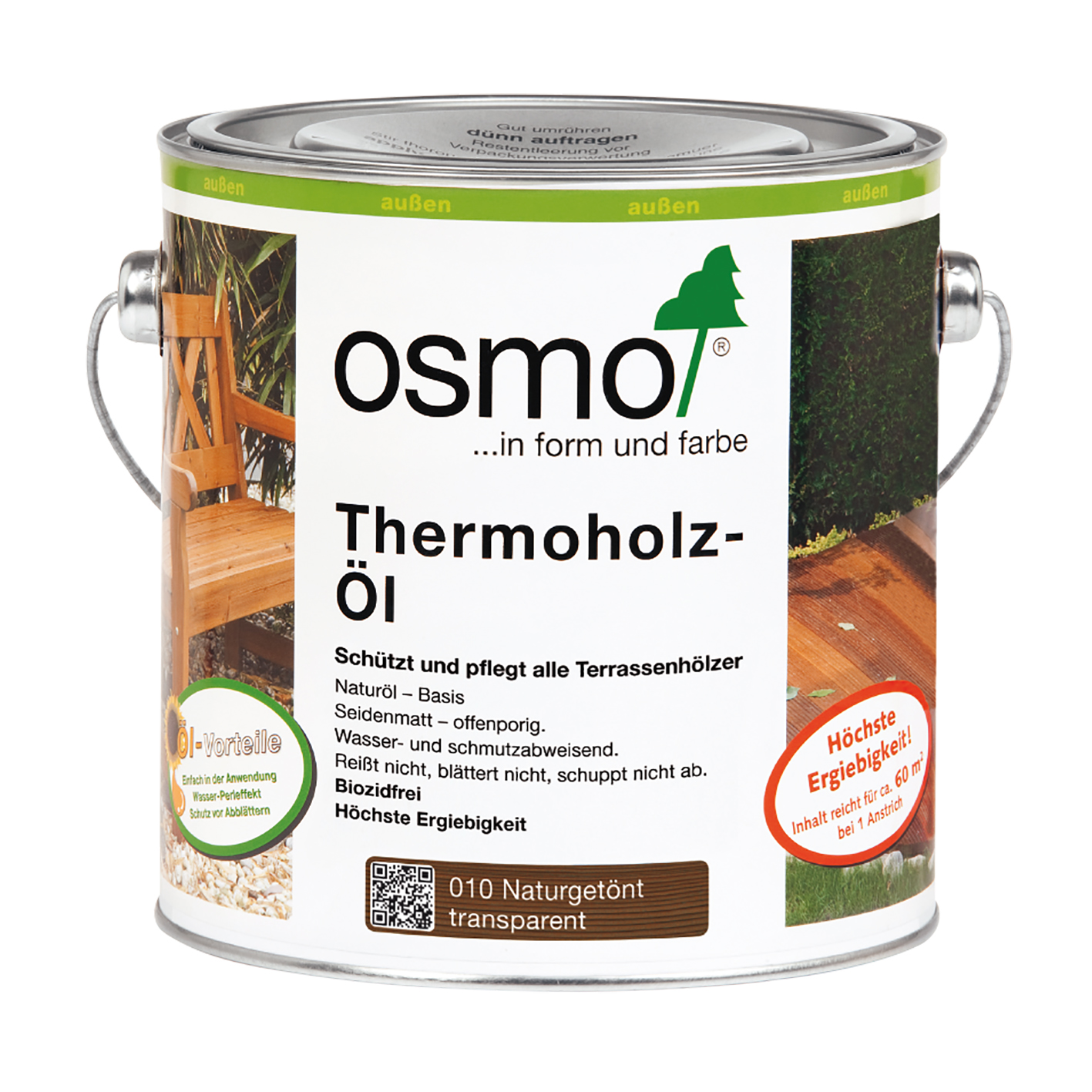 Osmo thermo-wood oil 2,5 Ltr.