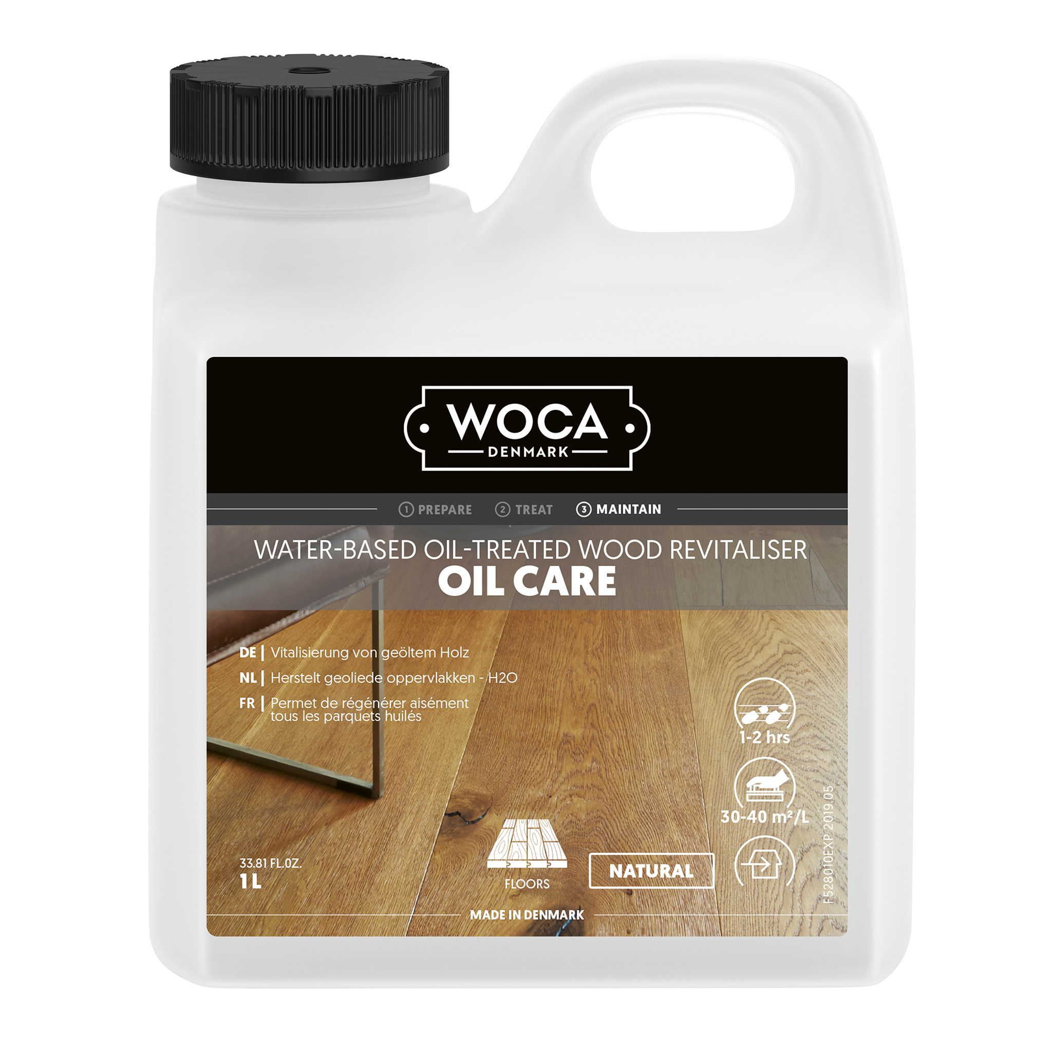WOCA oil-care, nature 1 Ltr.