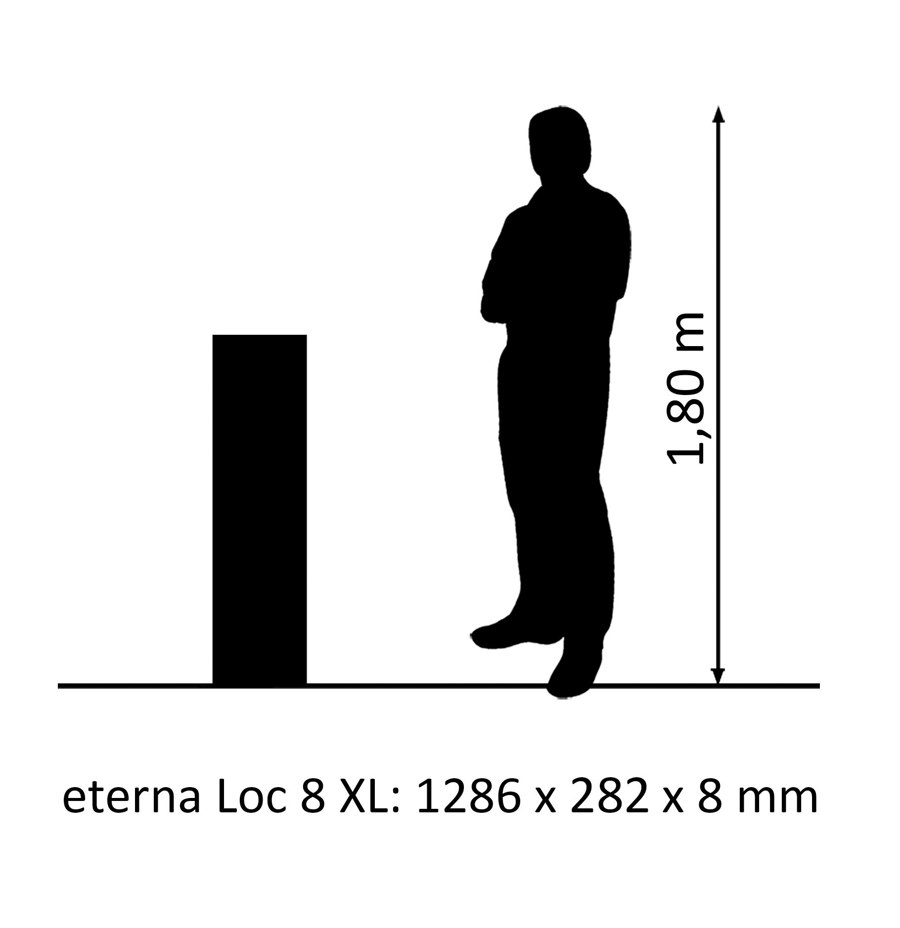 eterna Loc 8 XL oak muskat