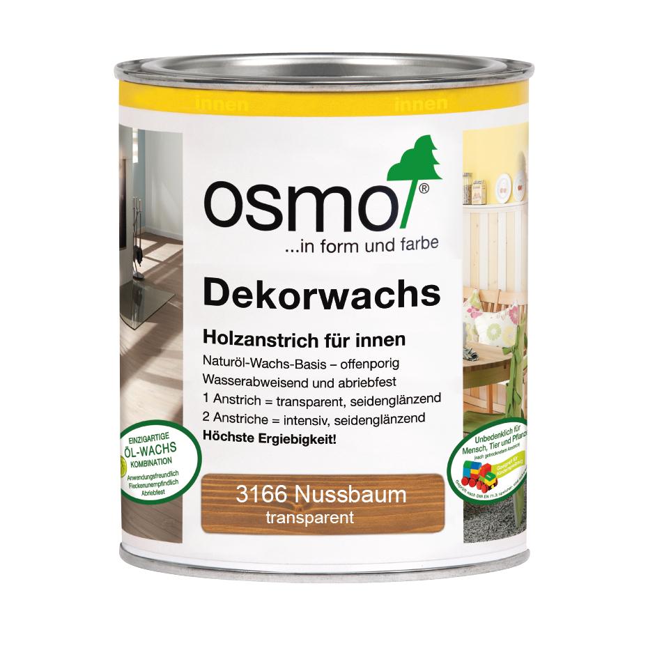 Osmo Dekorwachs transp. Nussbaum 750ml
