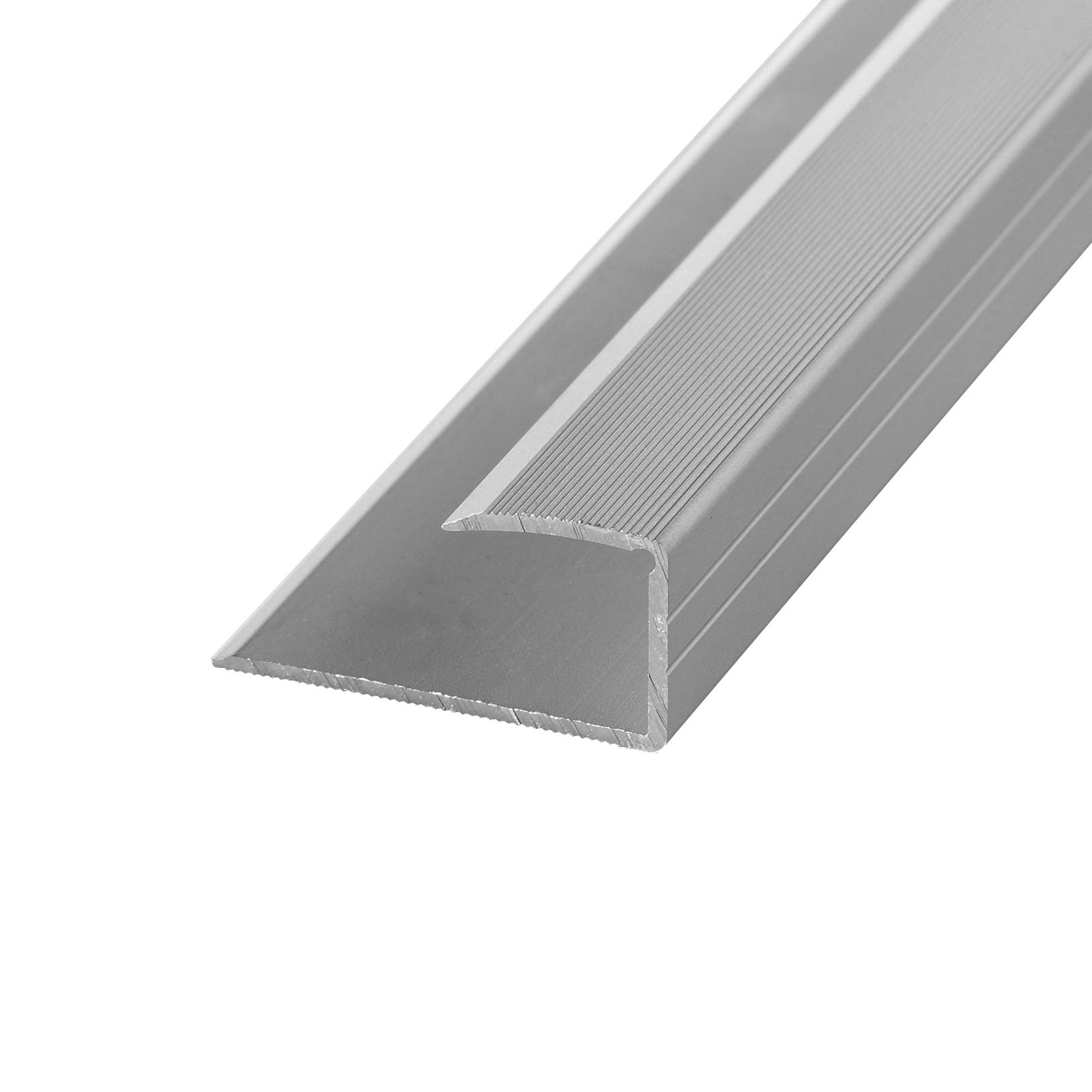 Edging profile 12-14mm alu stainl. steel