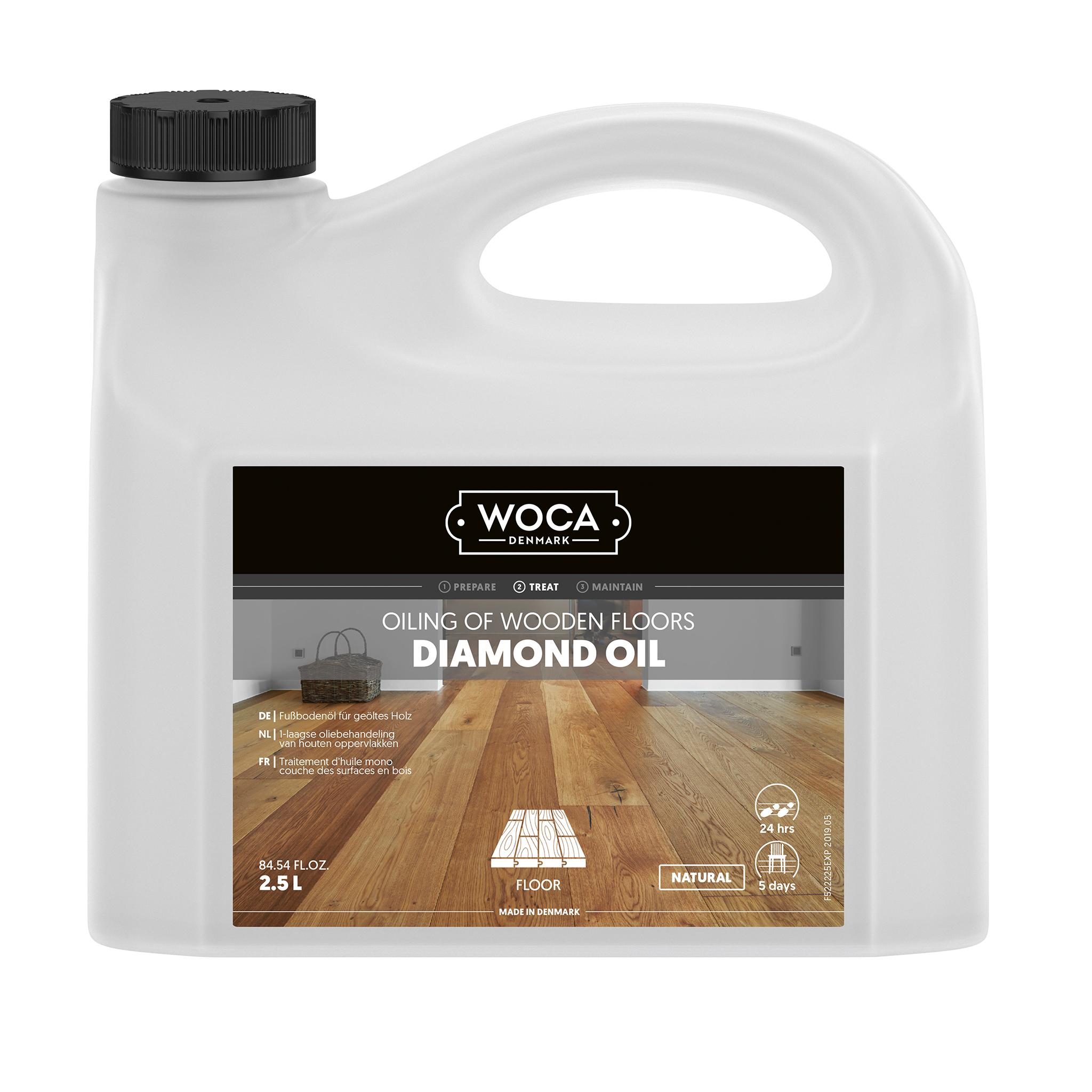 WOCA diamond oil nature 2,5 Ltr.