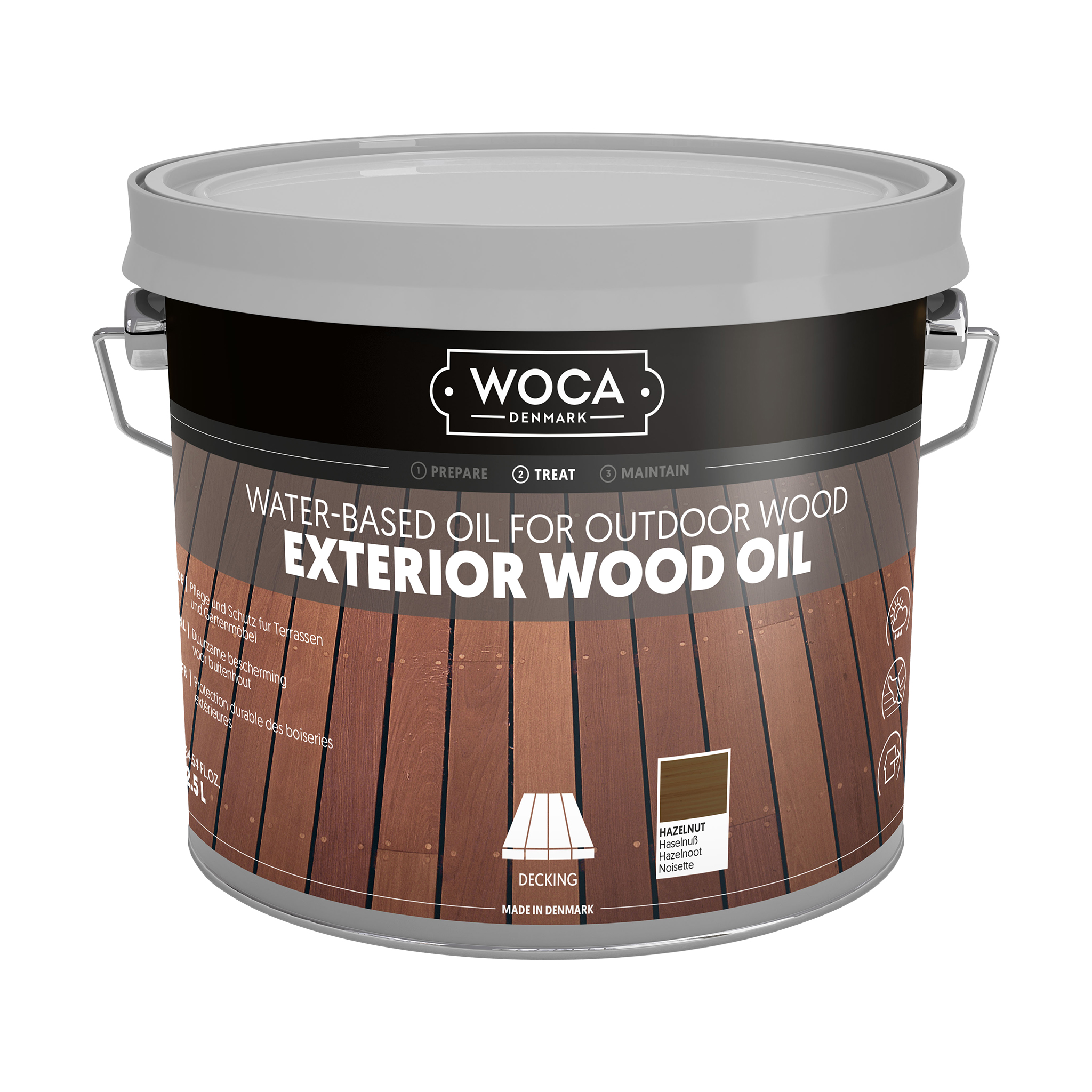WOCA Exterior Oil Hazelnut 2,5 L