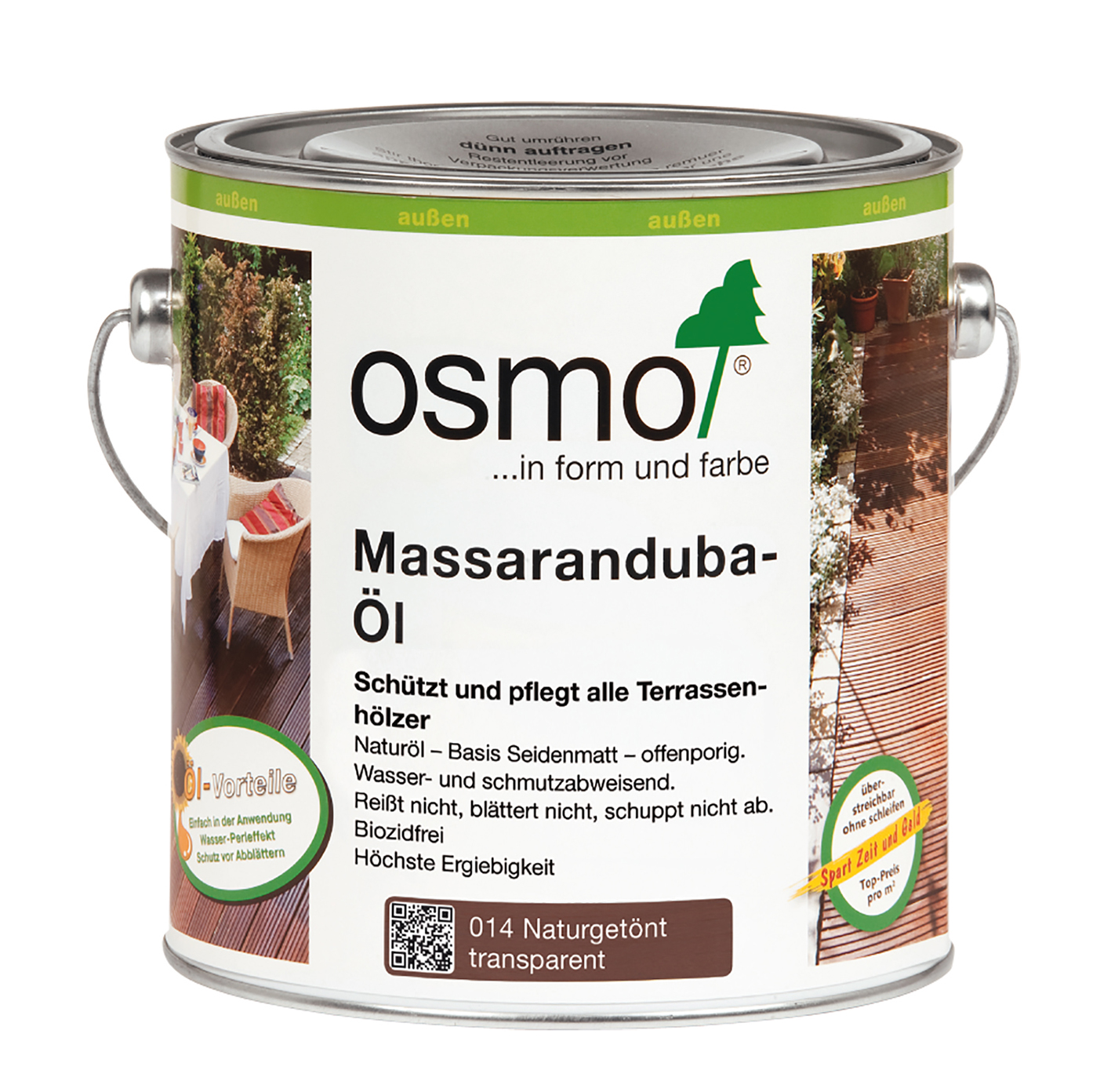 Osmo Massaranduba oil 2,5 Ltr.