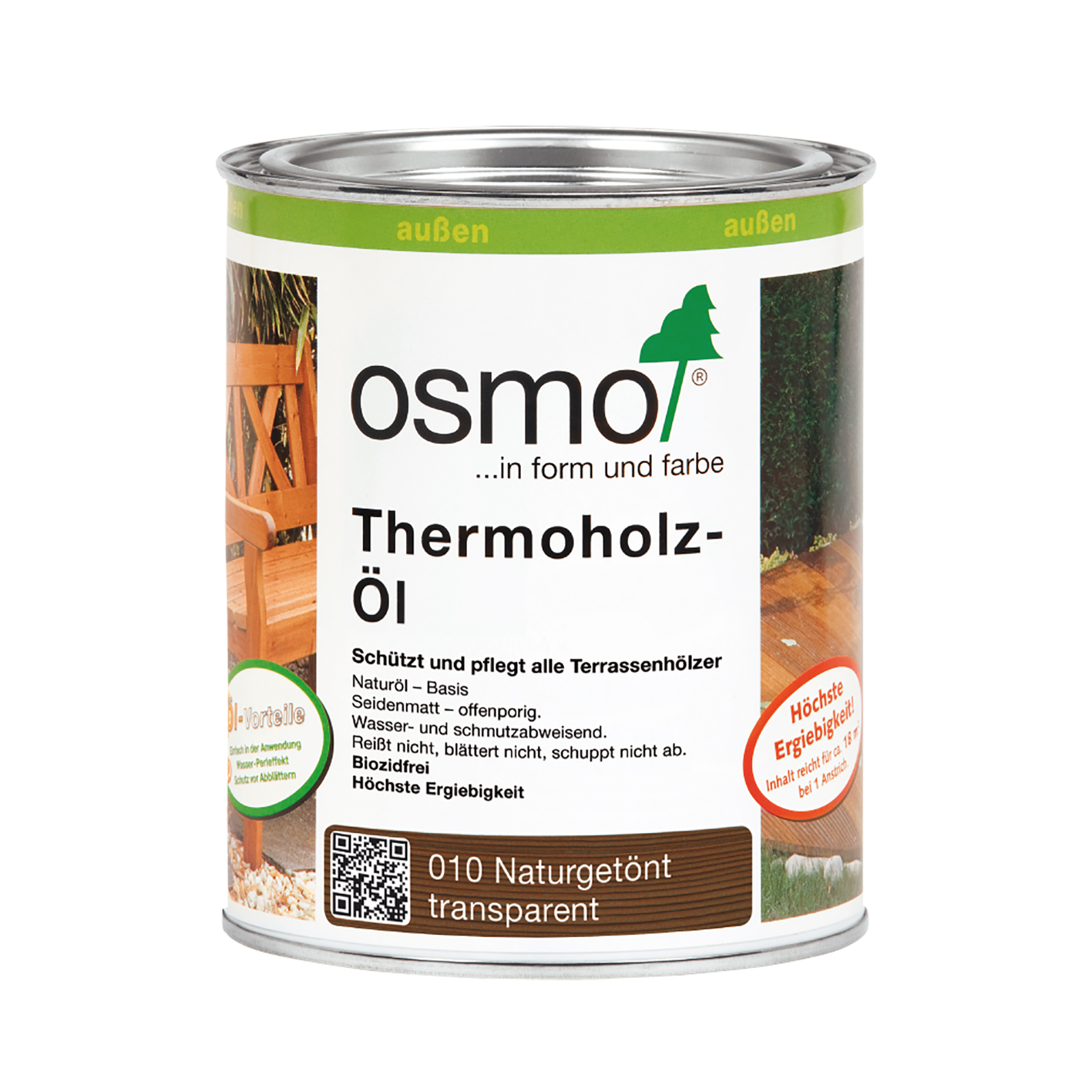 Osmo thermo-wood oil 750ml