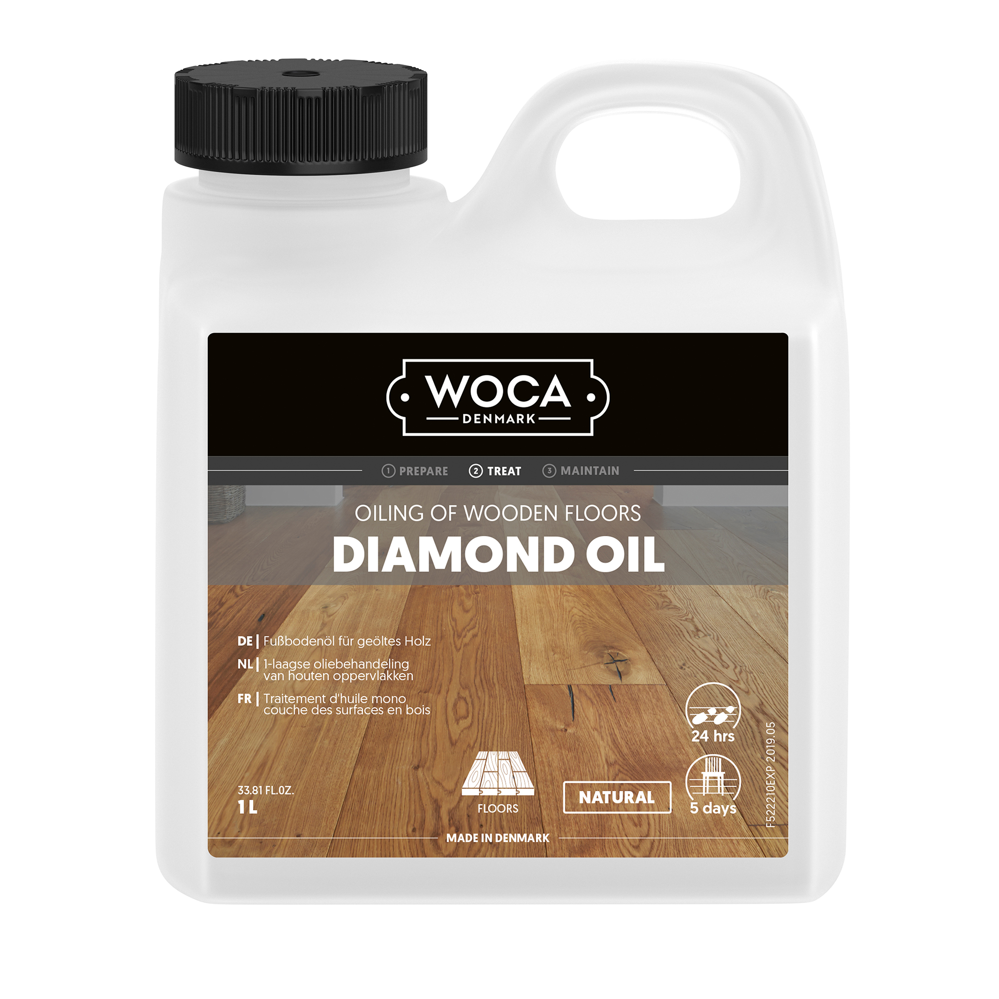 WOCA Diamond Oil Natur 1l