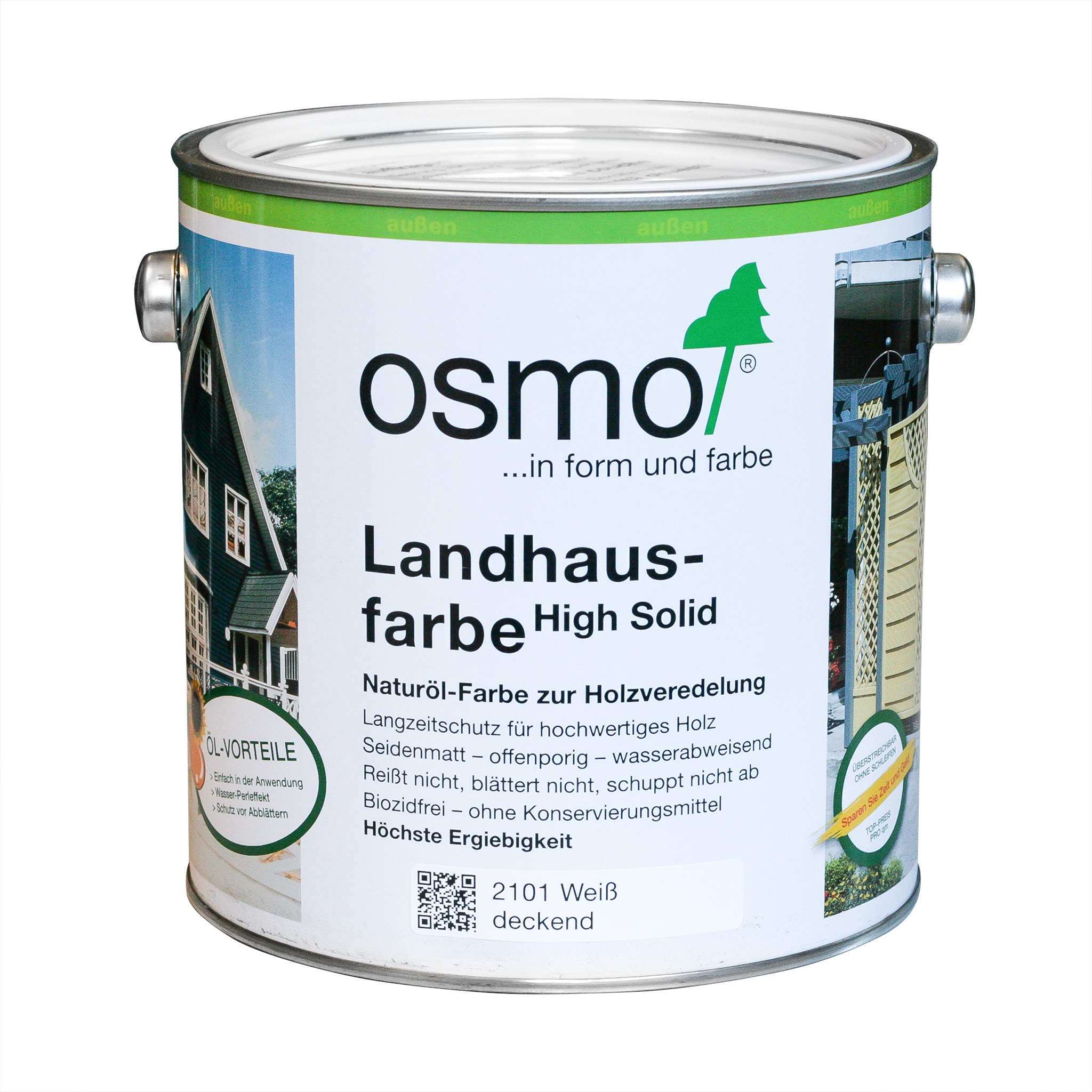 Osmo country colour white 2,5 Ltr.