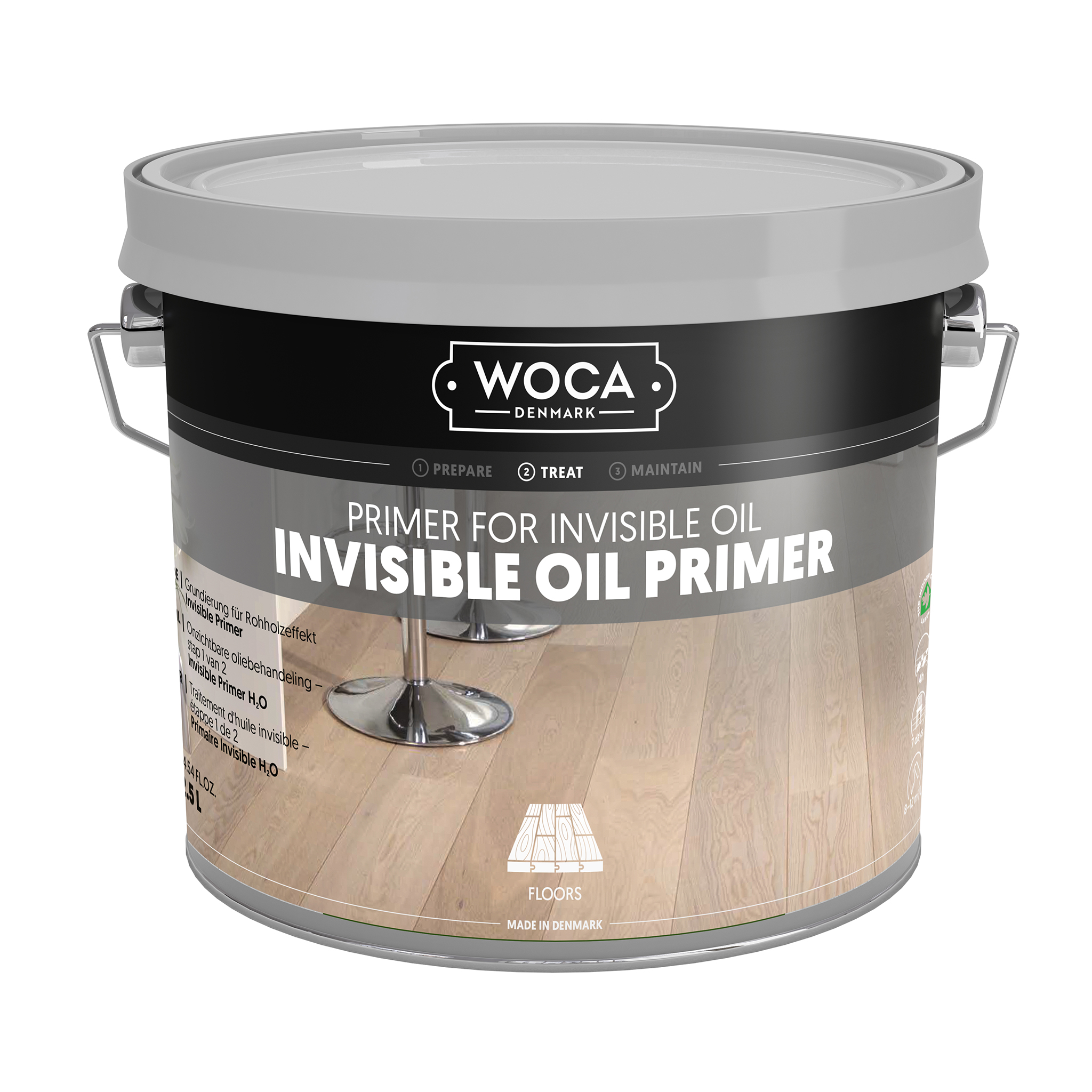 WOCA Invisible Primer 2,5 Ltr.
