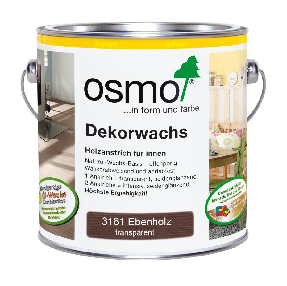 Osmo Dekorwachs transp. Ebenholz 2,5 L