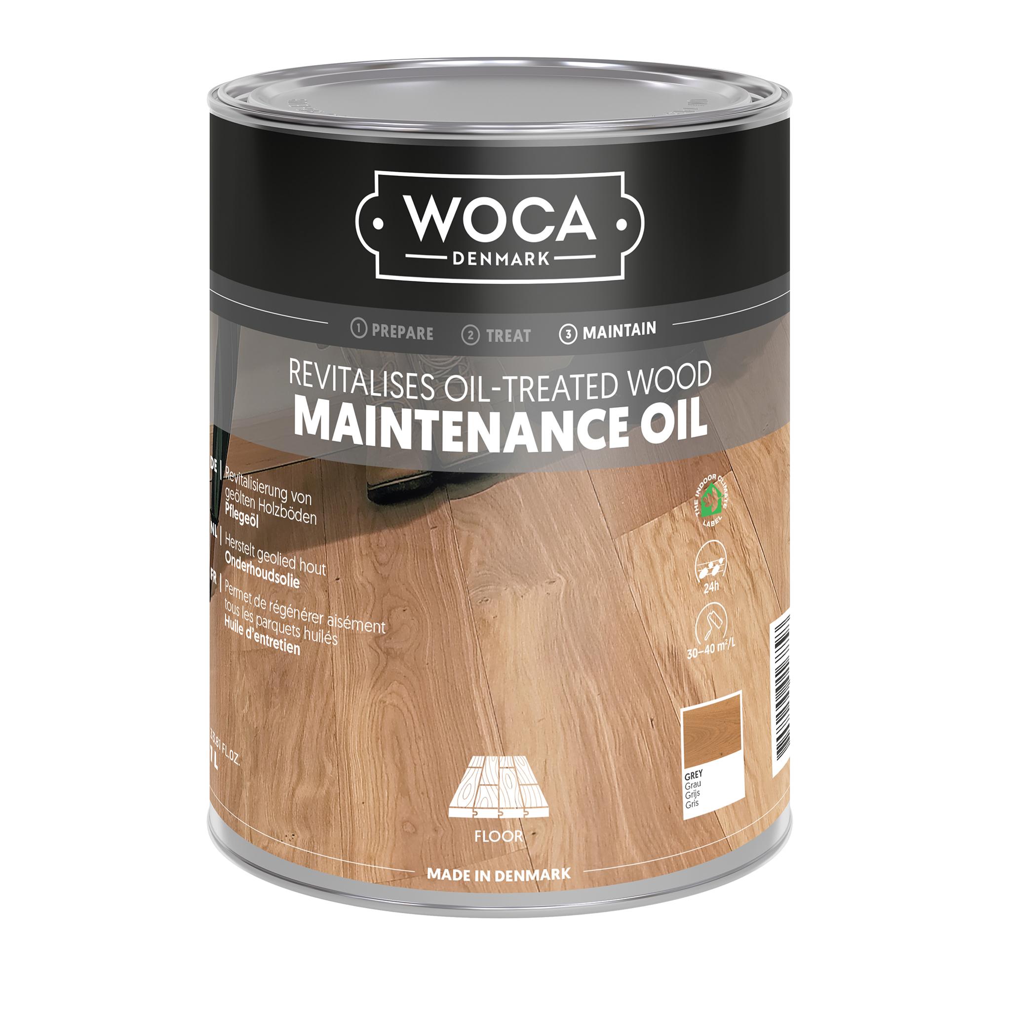 WOCA caring oil grey 1 Ltr.