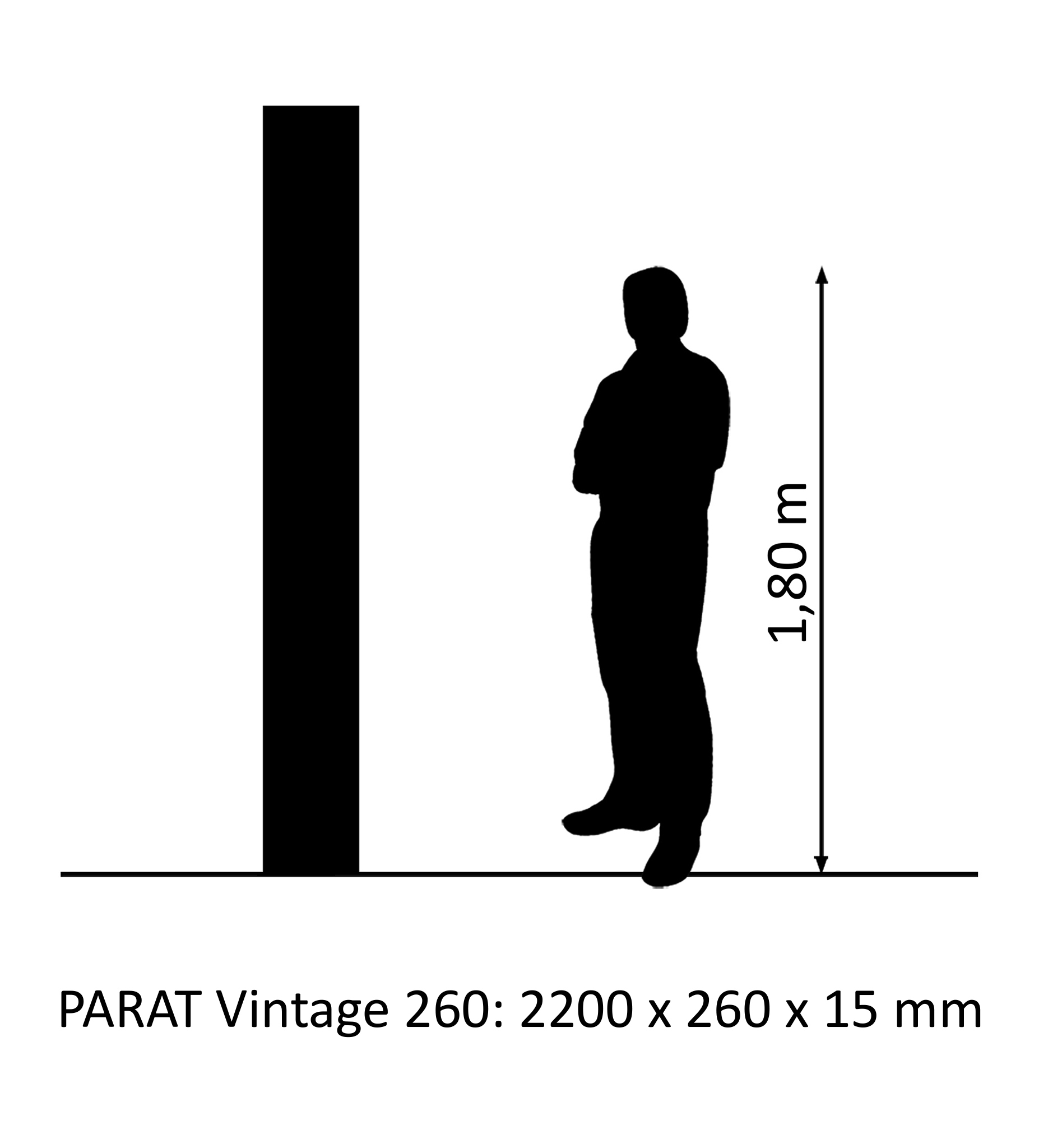 PARAT Vintage 260 oak XL wideplank