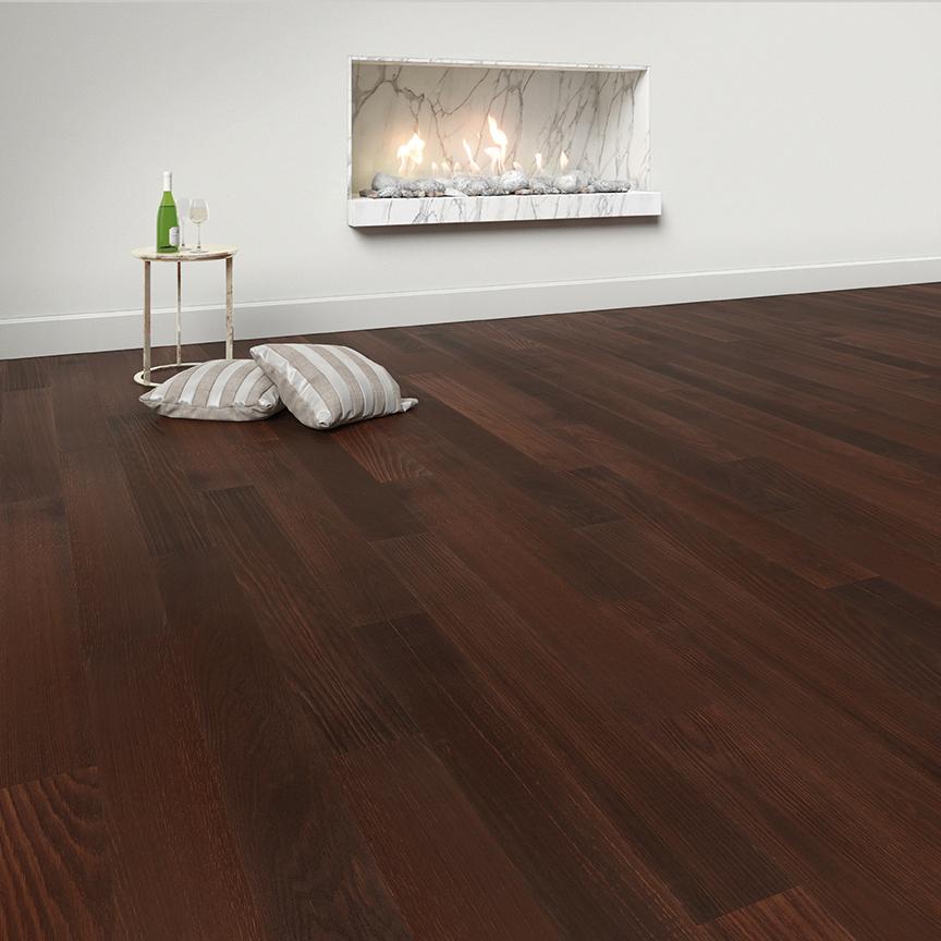 Floor-Art Da Vinci smoked oak Castano