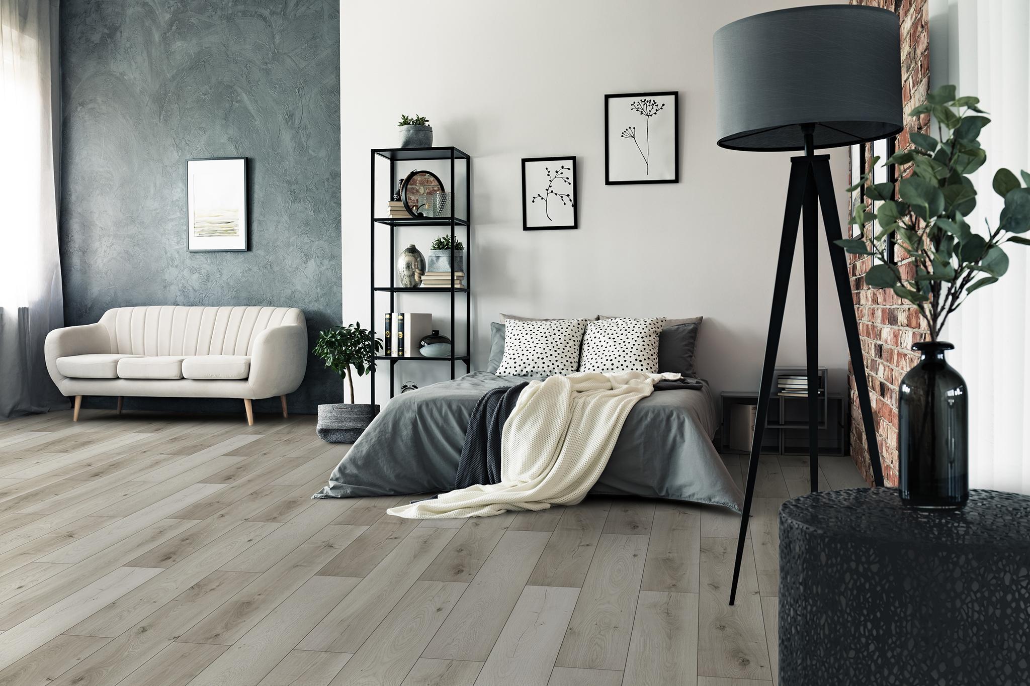 eterna Loc 8 V-joint oak soft grey
