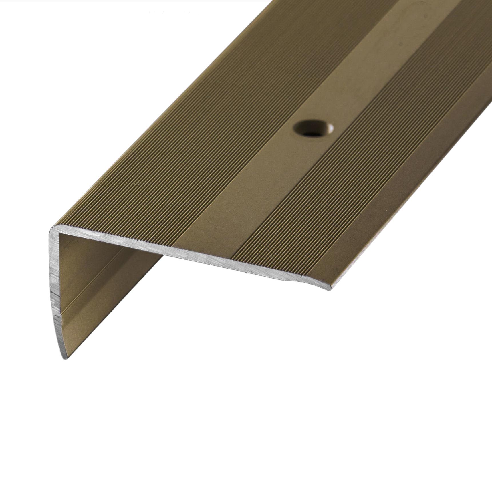 Treppenkantenprofil Alu Bronze
