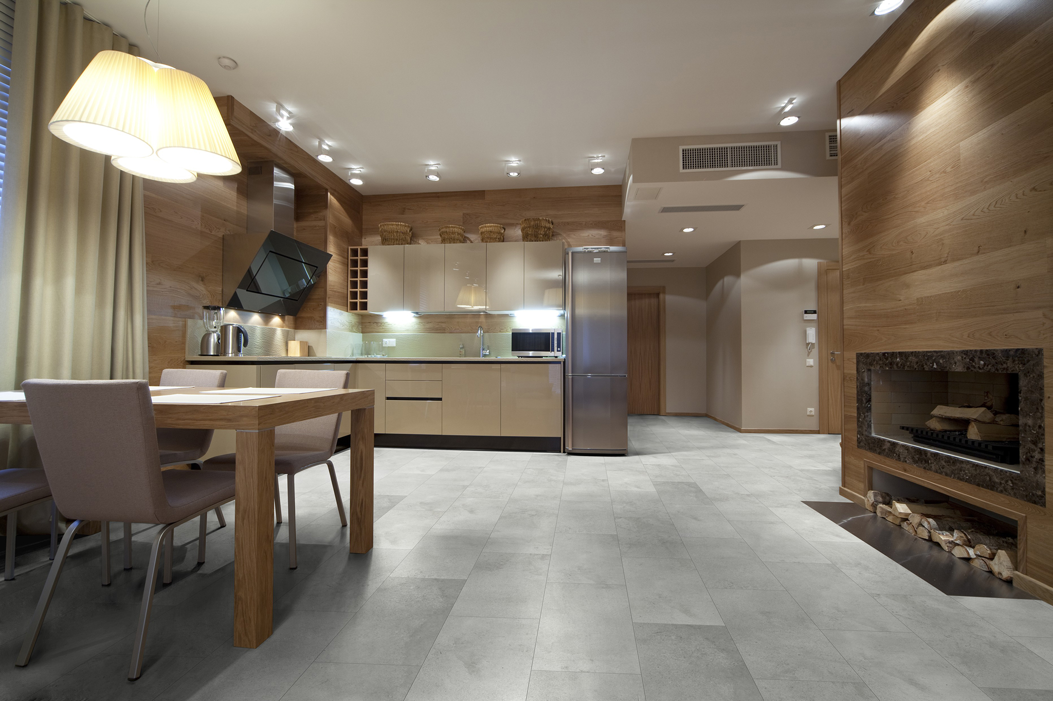 Ceramin Vario Concrete light