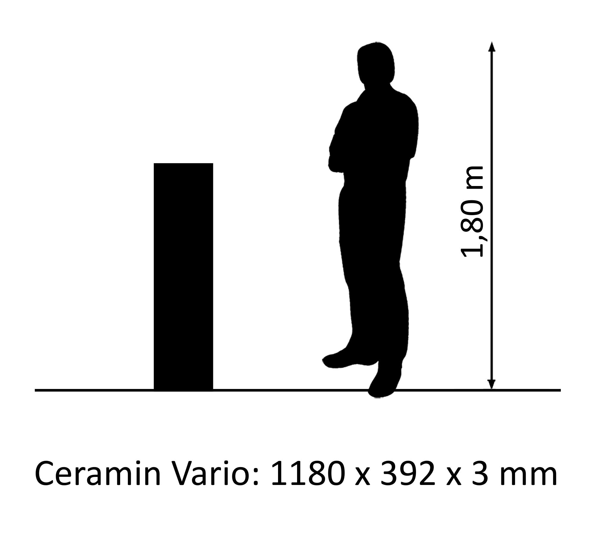 Ceramin Vario beton Nero Assoluto