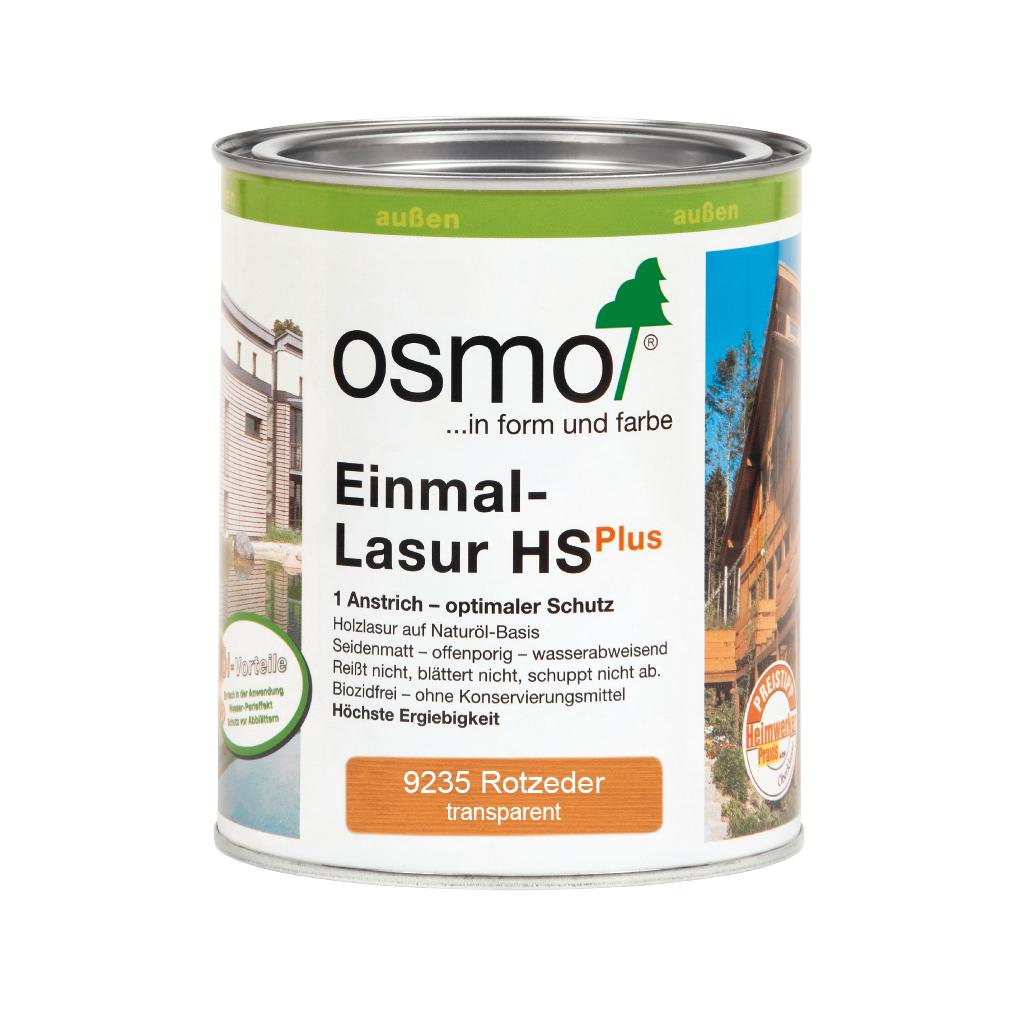 Osmo Einmal-Lasur HS+ Rotzeder 750ml