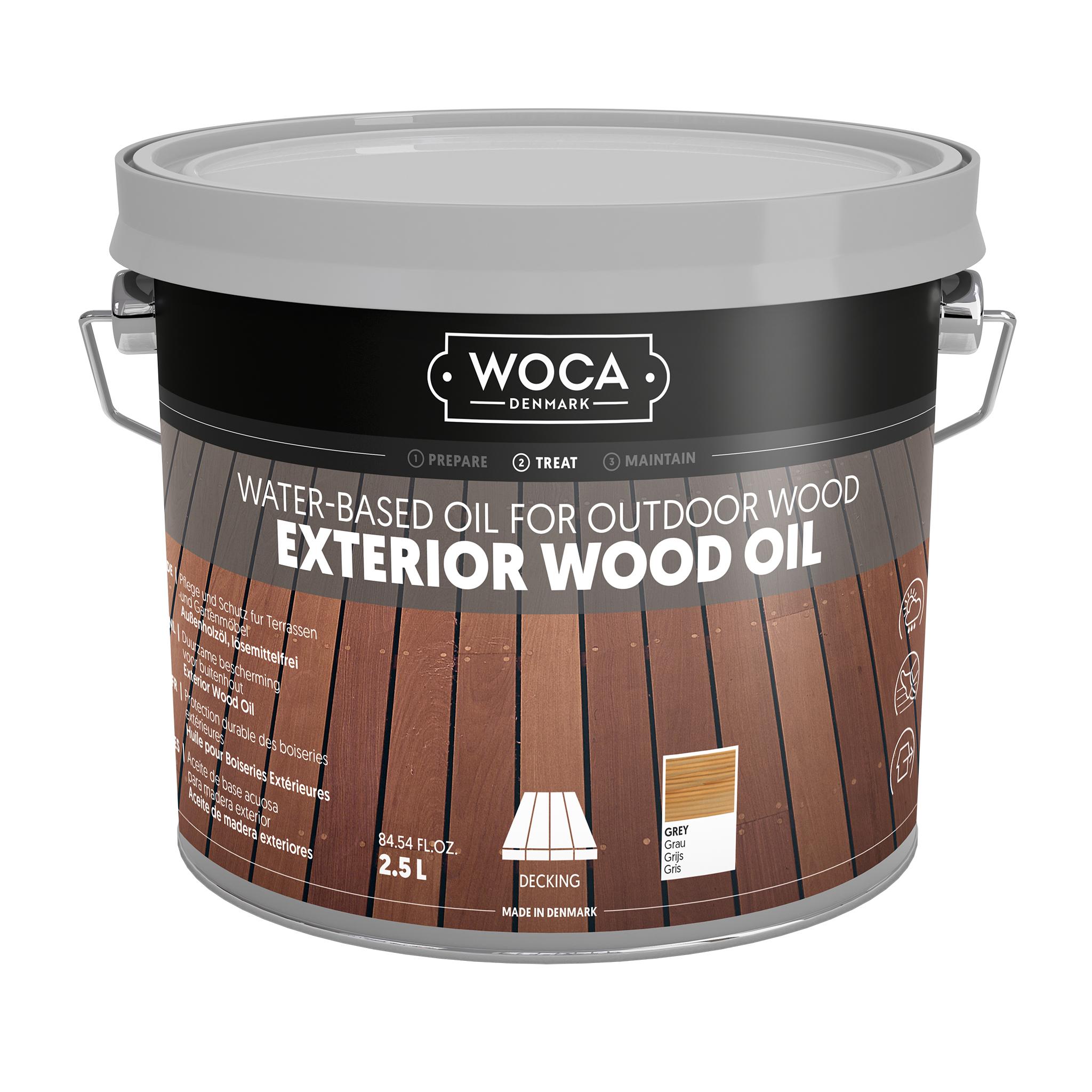 WOCA Exterior Oil grey 2,5 L