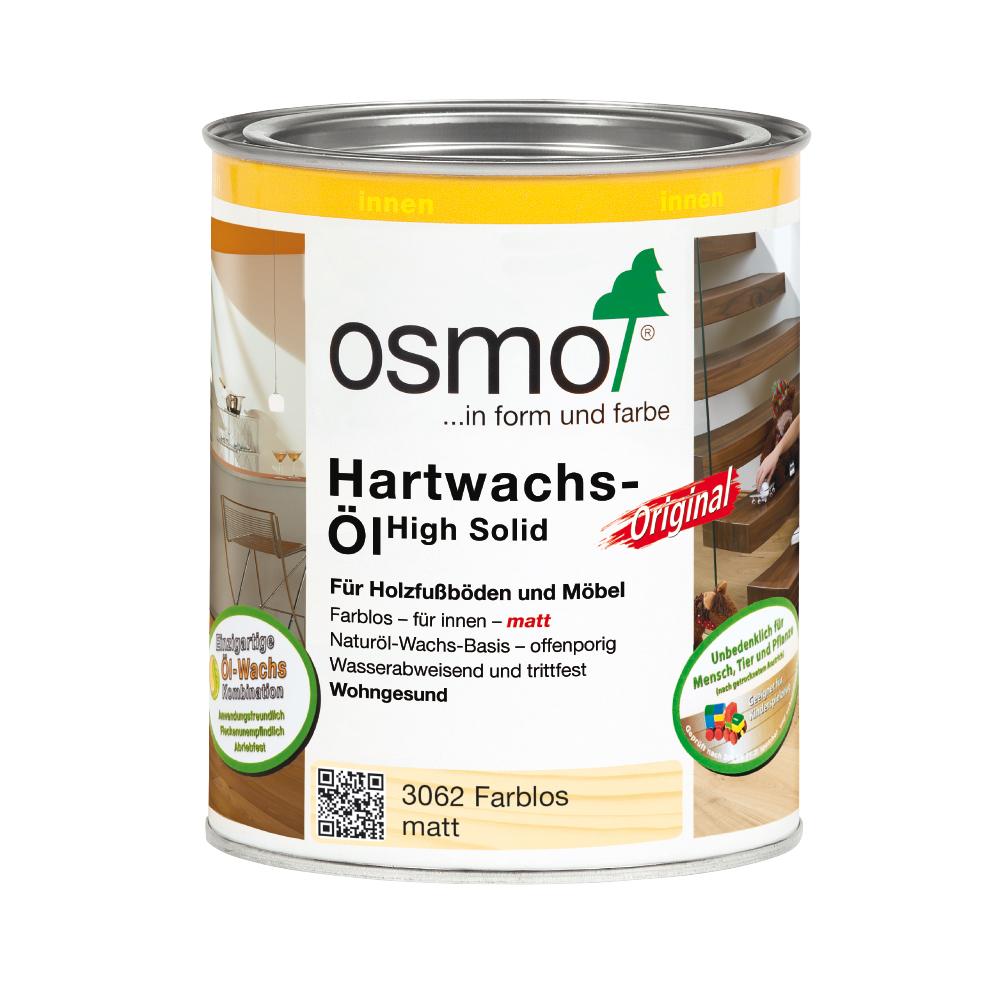 Osmo Hartwachsöl farblos matt 750ml