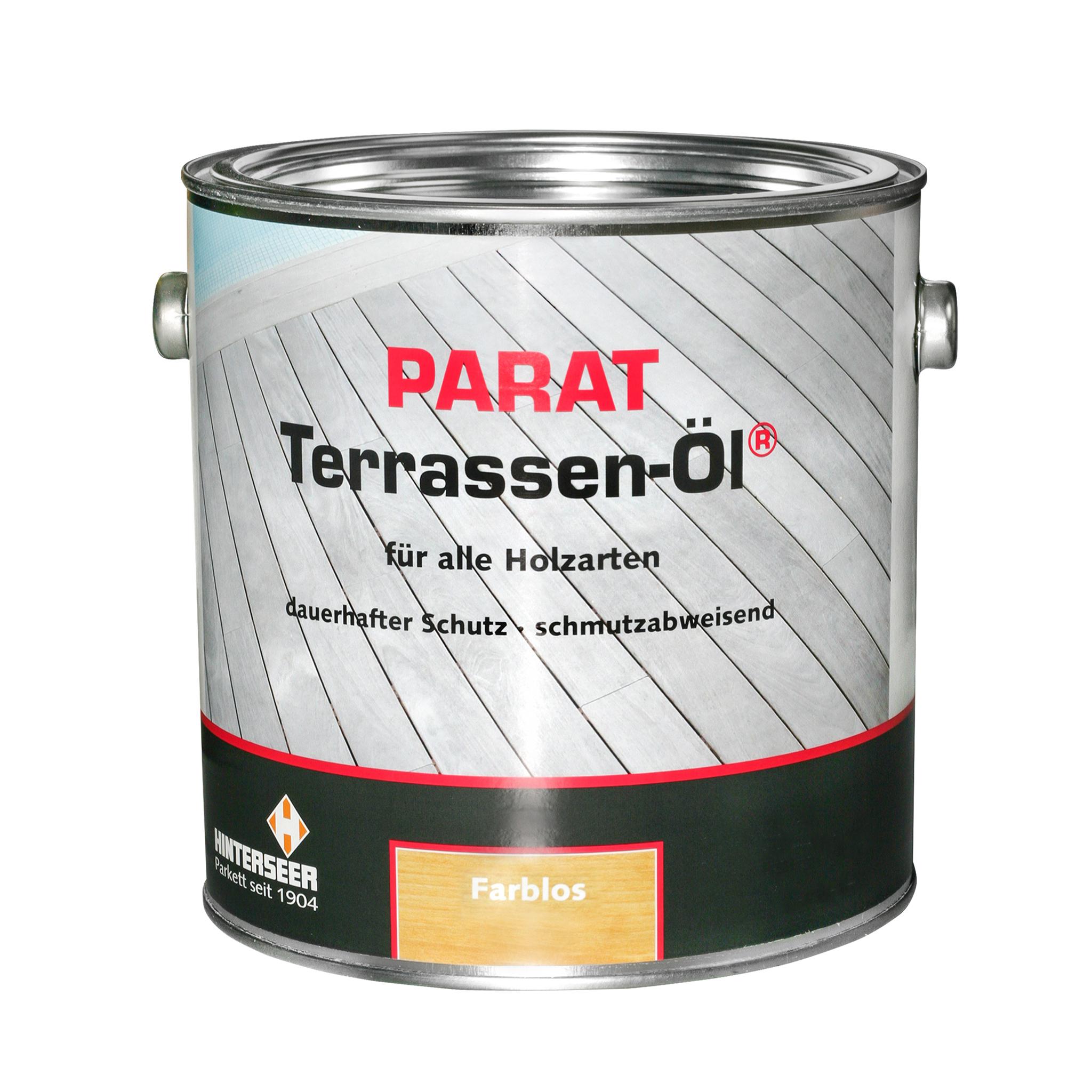 PARAT Terrassenöl 2,5 Ltr. Farbvarianten