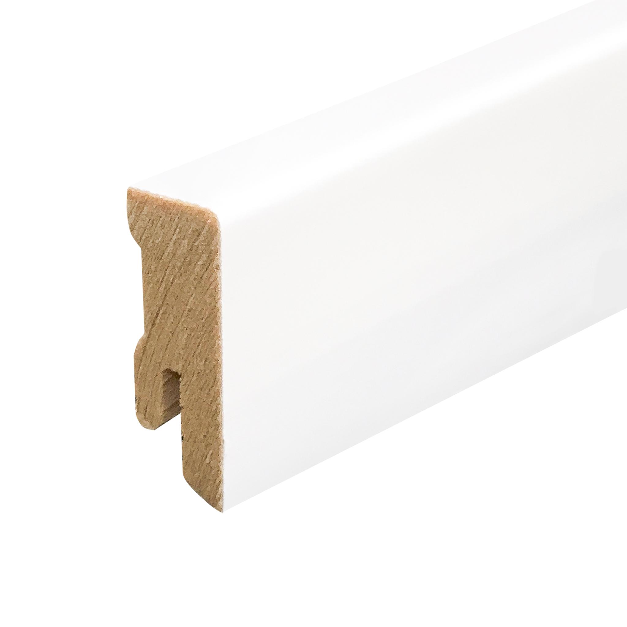 630 coated cube skirting board white