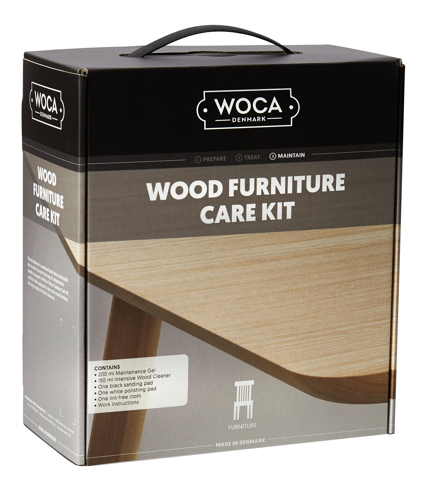 WOCA Möbelbox Öl Pflegeset