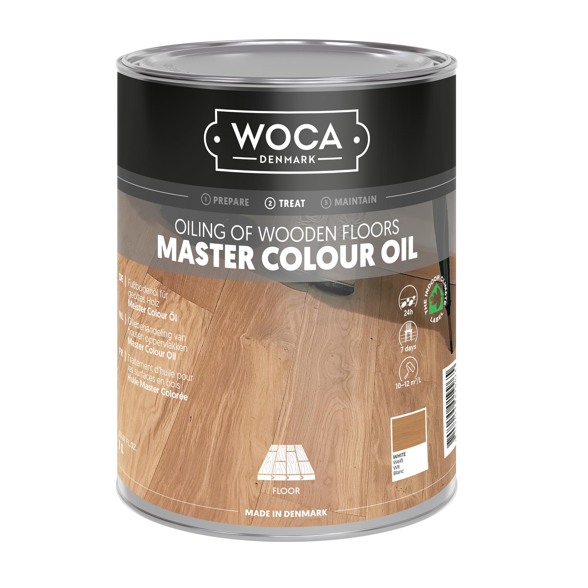 WOCA Meister Bodenöl weiß 1,0 Ltr.