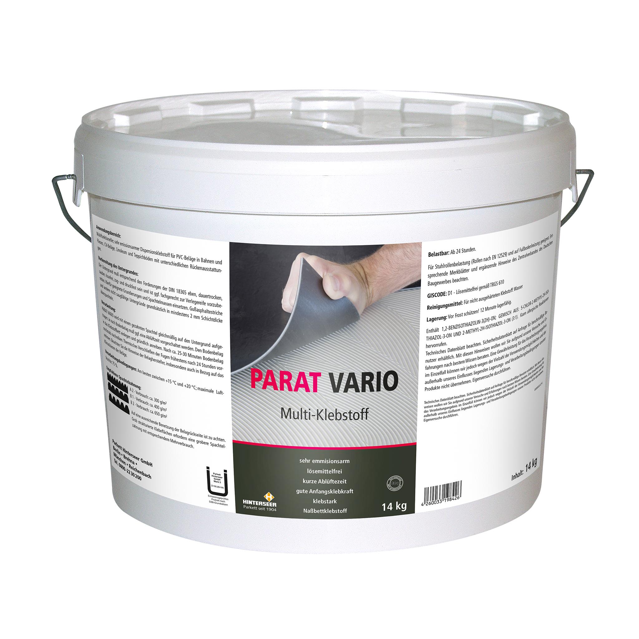 PARAT Vario Belags-Multikleber 14 kg