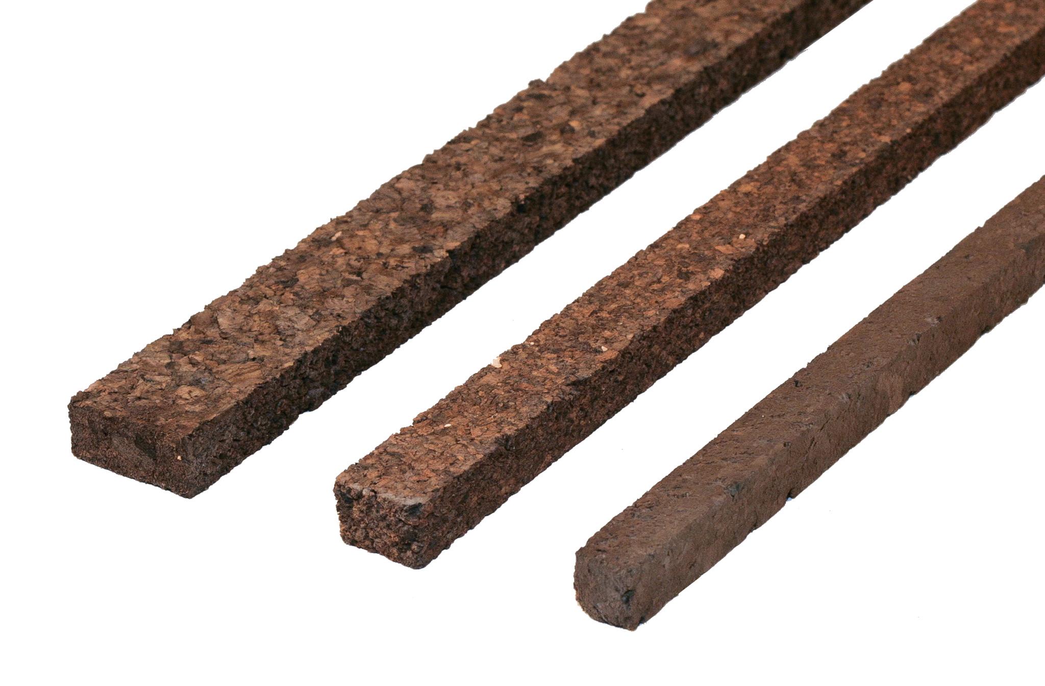 PARAT Korkstreifen --dunkel-- 10x15mm