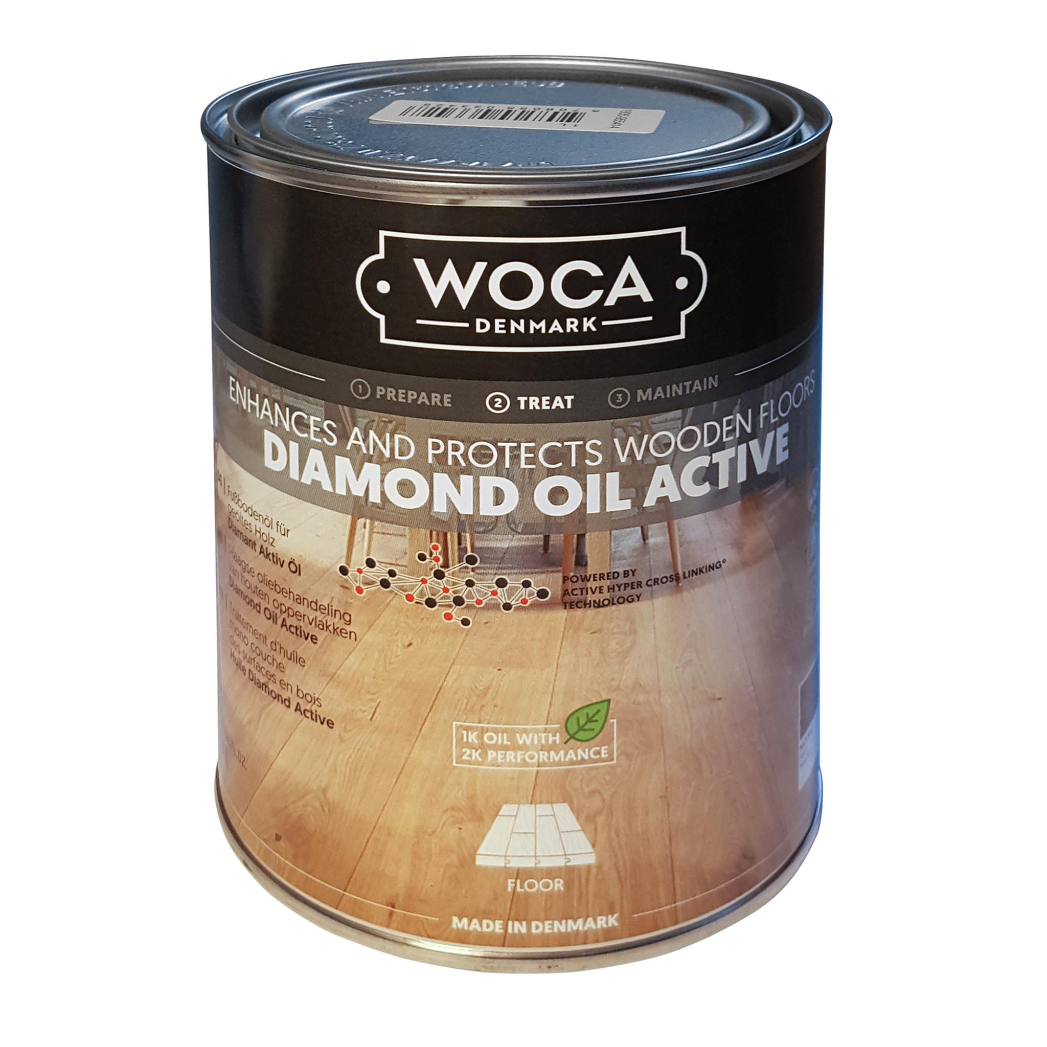 WOCA Diamond Öl Aktiv, Natur Holzöl 1L