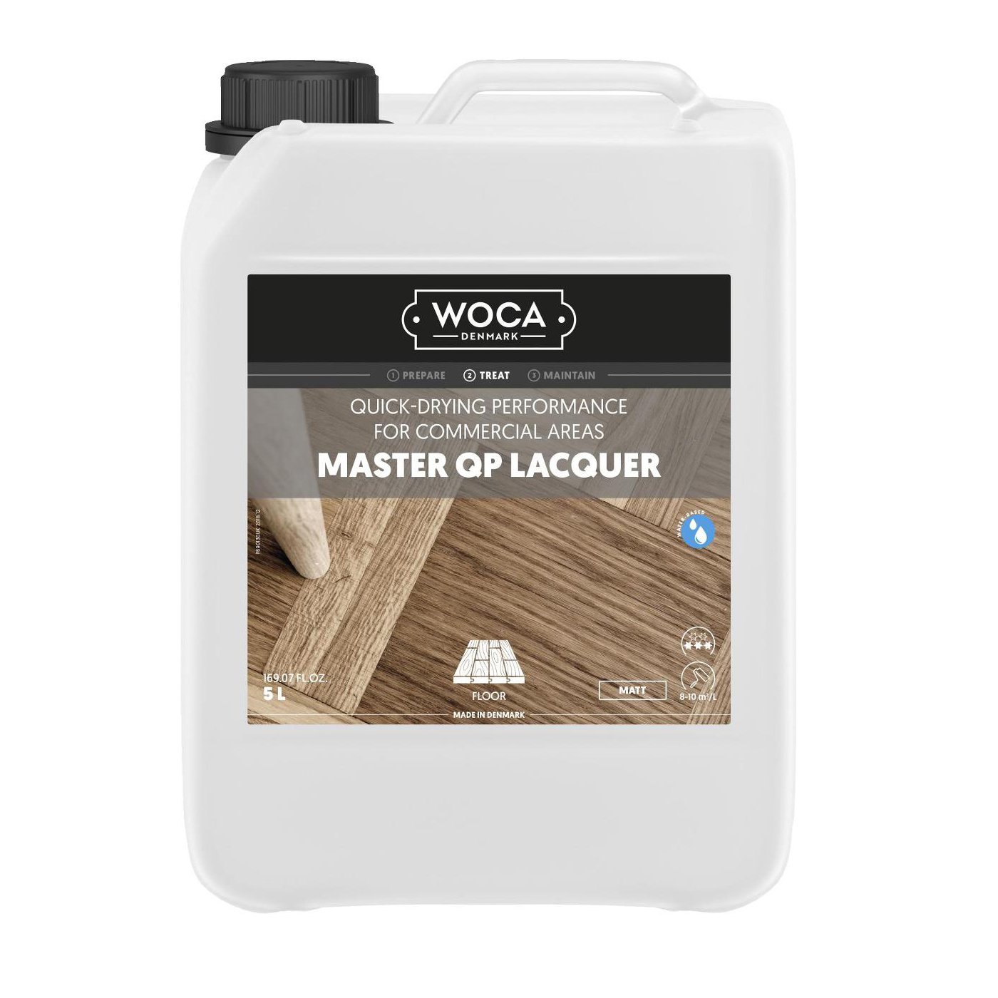 WOCA Master QP 5 l parquet lacquer