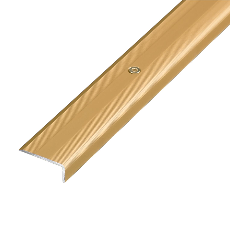 Winkelprofil gelocht Alu Gold 1,00 m