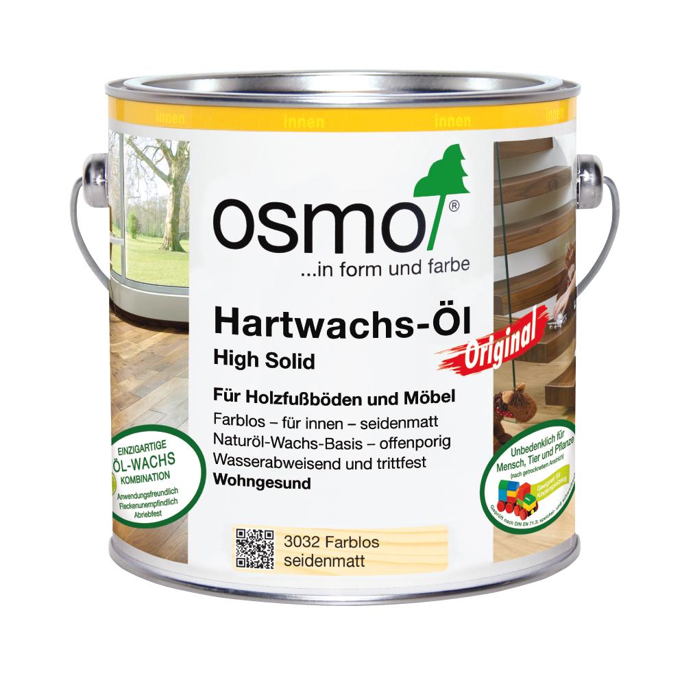 Osmo Hartwachsöl farblos 2,5 Ltr.