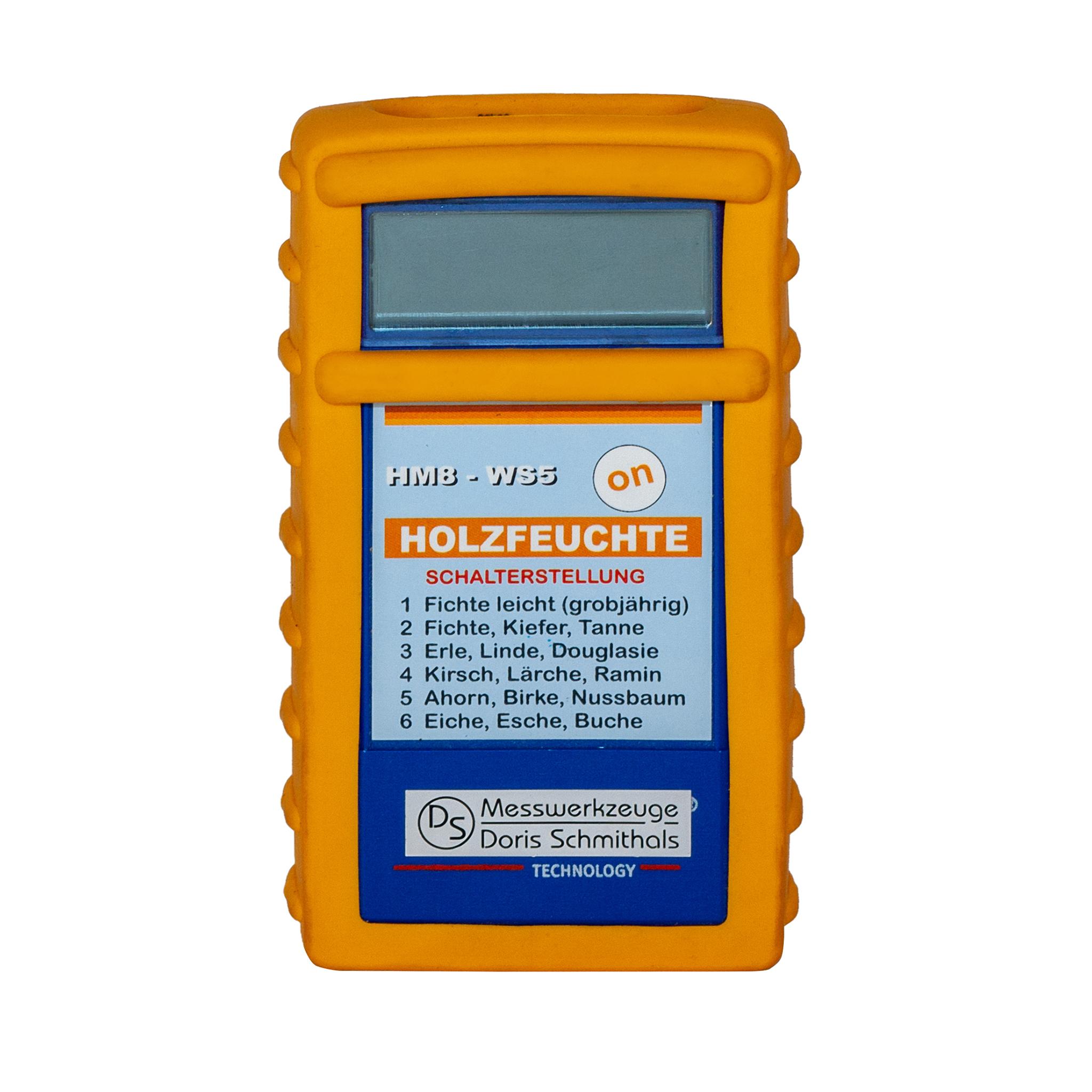 Holzfeuchtermessgerät HM8-WS5