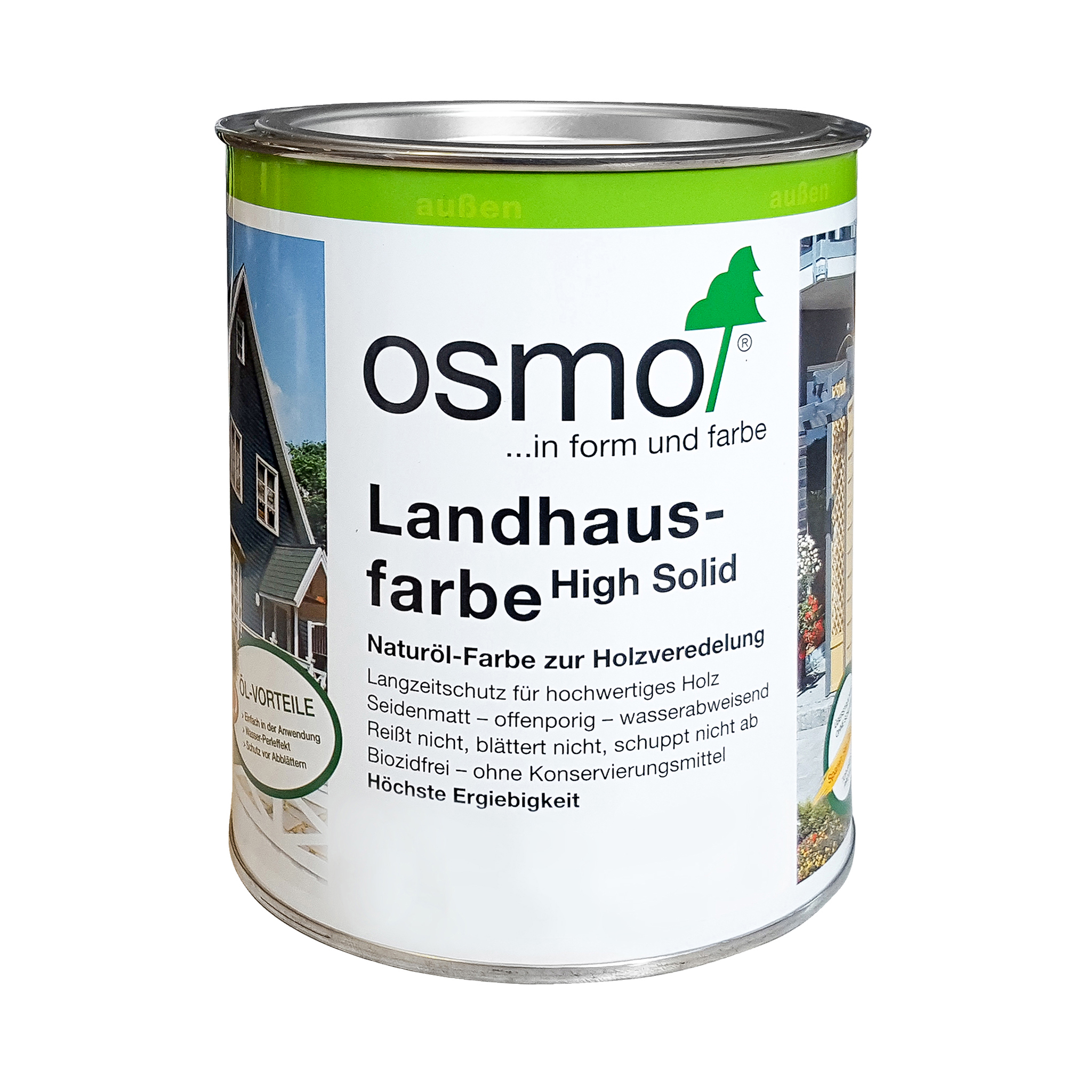 Osmo Landhausfarbe Nordisch Rot 750ml