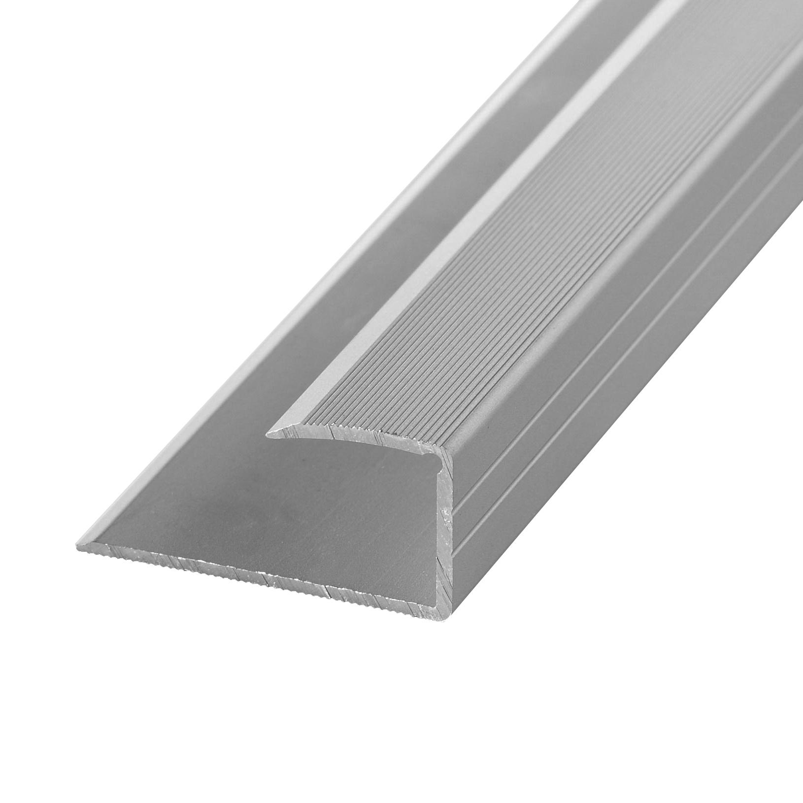 Edging profile 14-16mm alu stainl. steel
