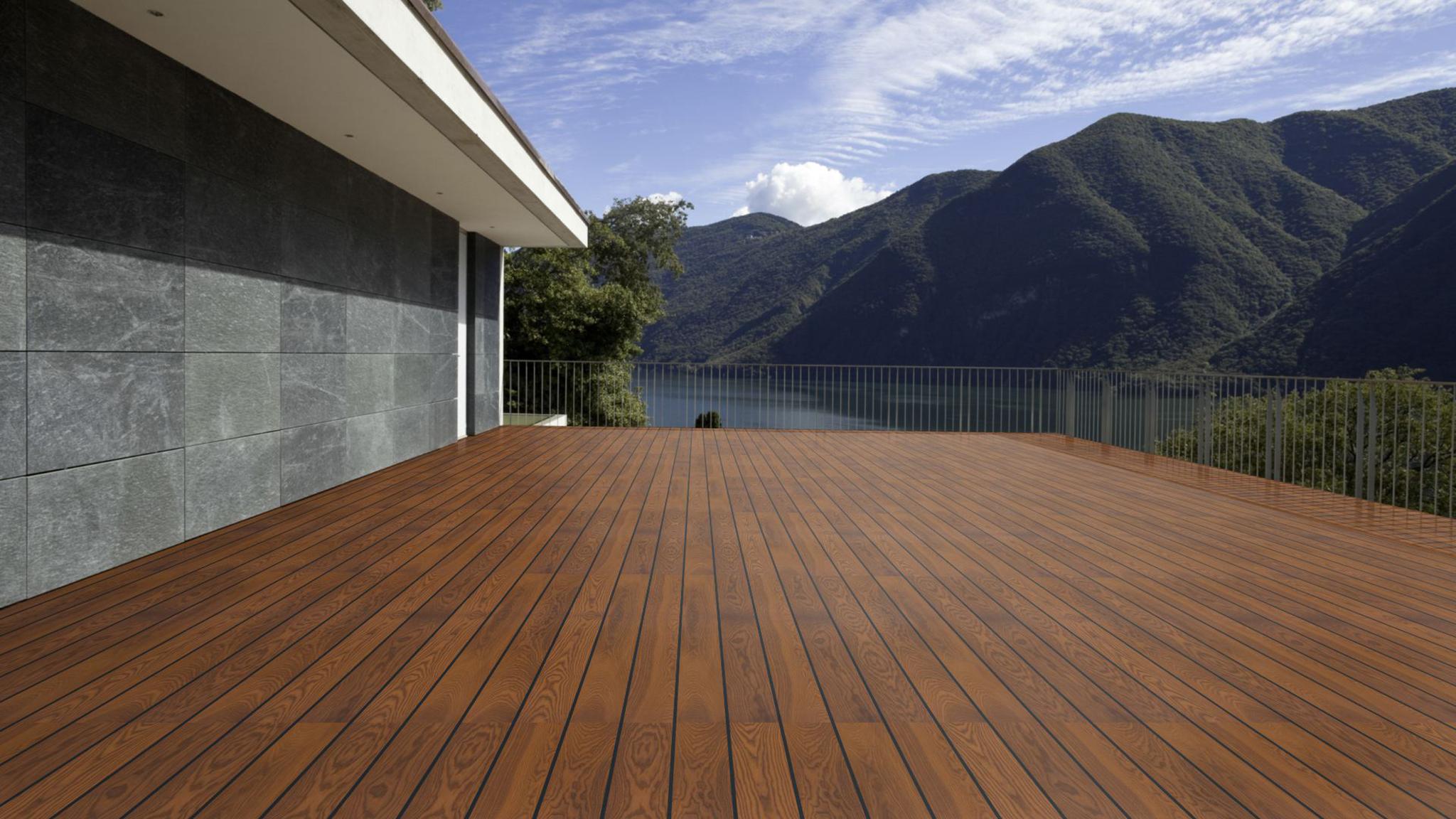 PARAT Deck Thermoesche 20mm glatt/glatt
