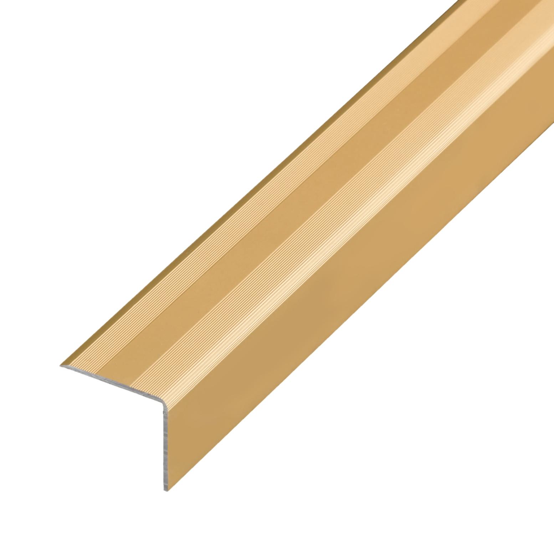 Winkelprofil 1,00m Alu Bronze