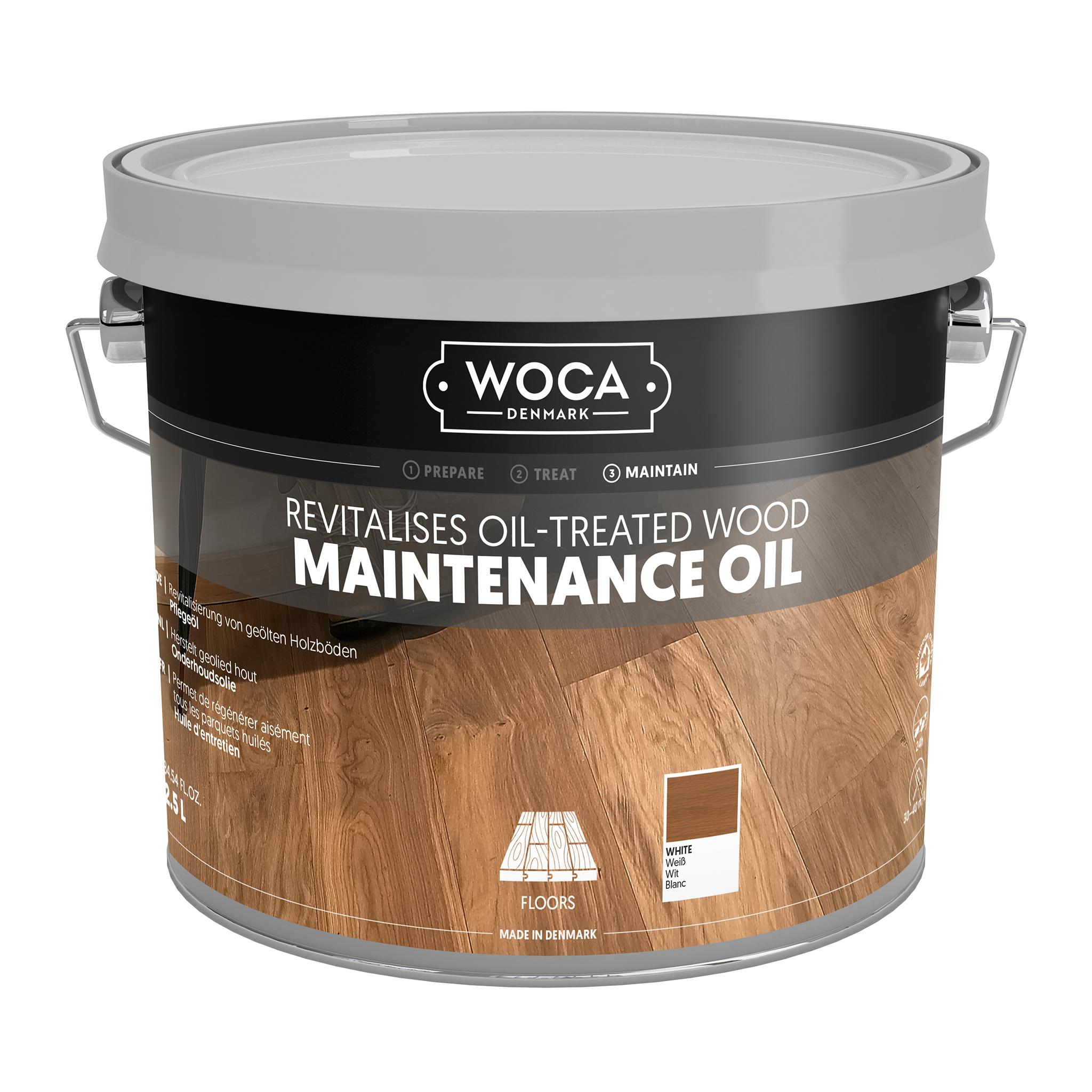 WOCA Pflegeöl weiß 2,5 Ltr.