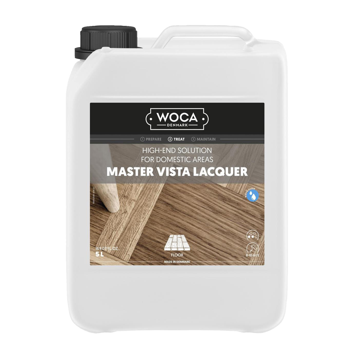 WOCA Master Vista 5 Ltr. Seidenglanz