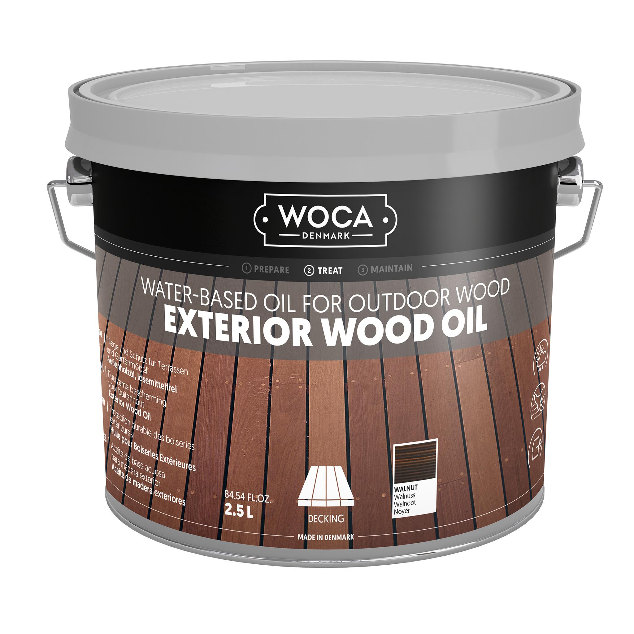 WOCA Exterior Öl Walnuss 2,5L