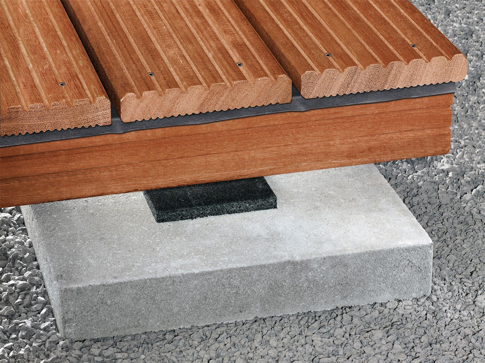 SPAX Terrasse Deck Pads 100x100x8mm